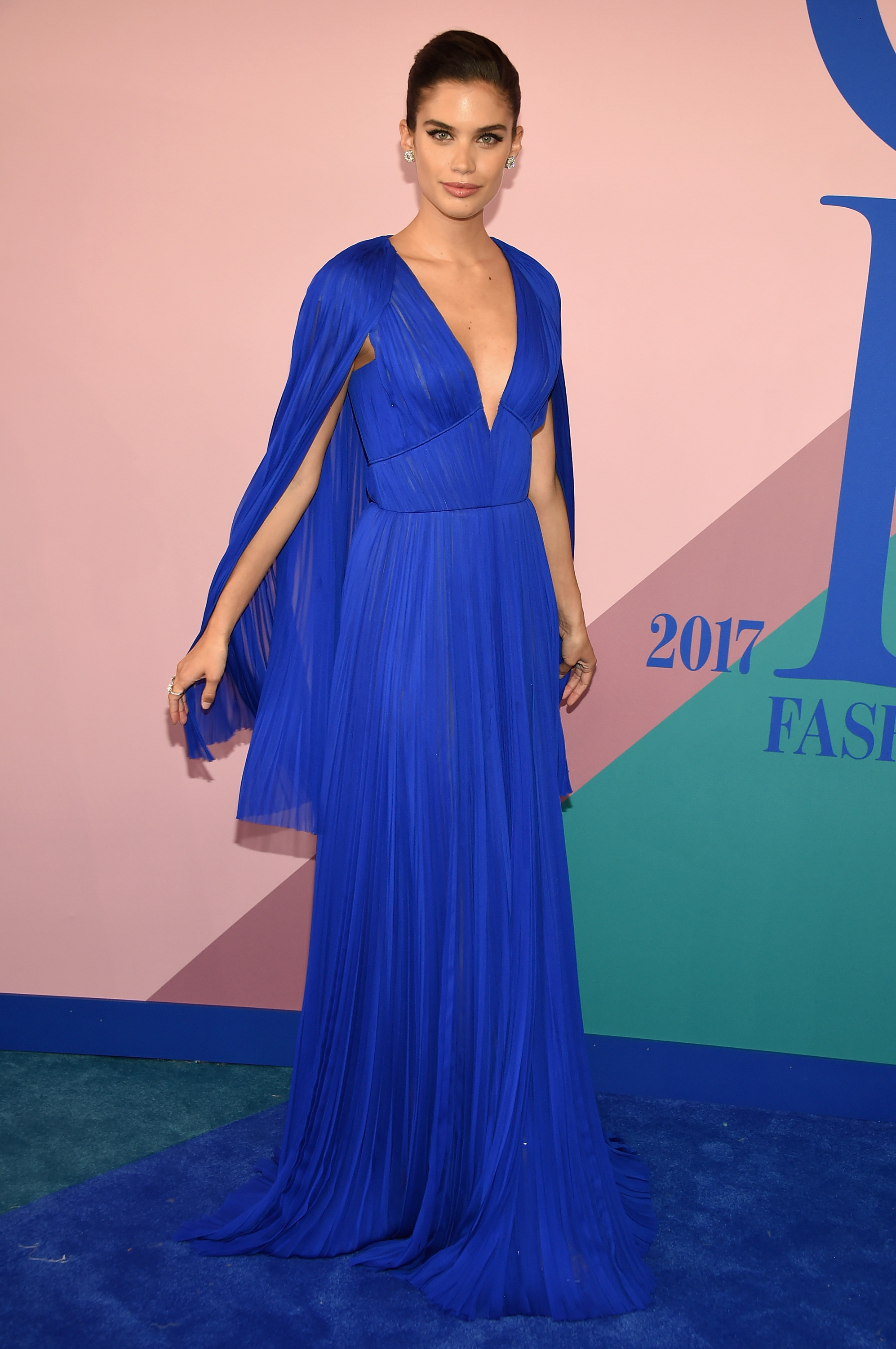 NEW YORK, NY - JUNE 05: Sara Sampaio attends the 2017 CFDA Fashion Awards at Hammerstein Ballroom on June 5, 2017 in New York City.  (Photo by Dimitrios Kambouris/Getty Images)