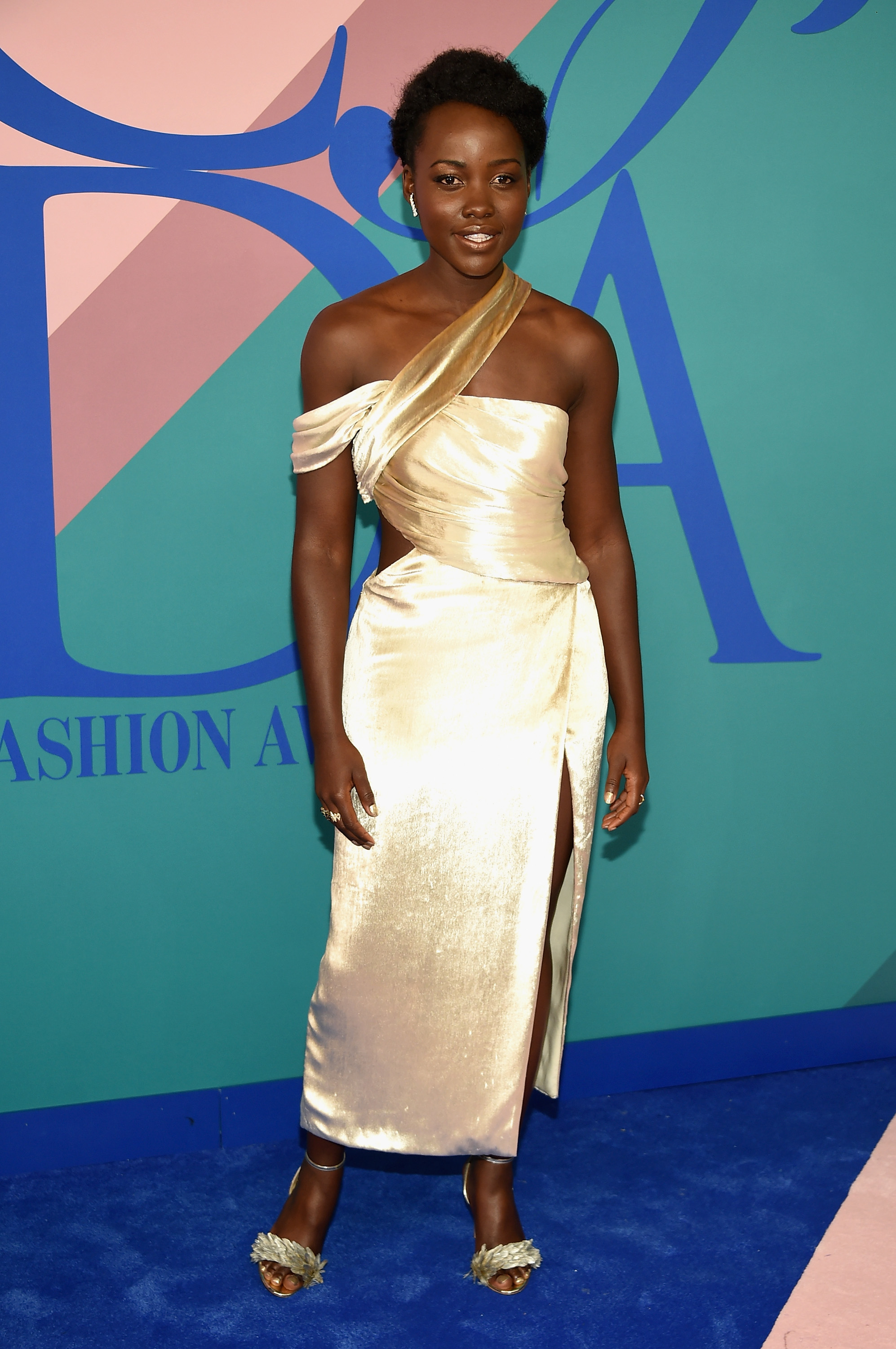 NEW YORK, NY - JUNE 05:  Lupita Nyong'o attends the 2017 CFDA Fashion Awards at Hammerstein Ballroom on June 5, 2017 in New York City.  (Photo by Dimitrios Kambouris/Getty Images)