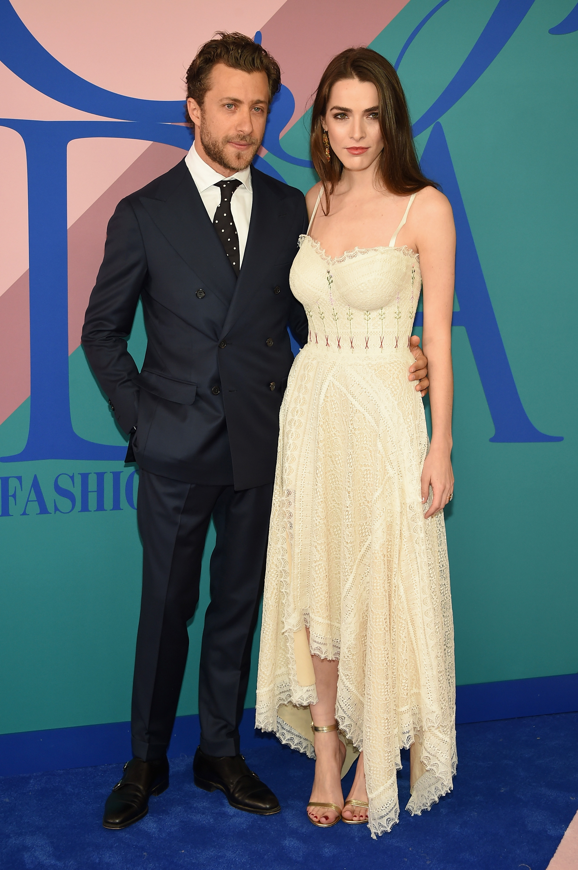 NEW YORK, NY - JUNE 05:  Francesco Carrozzini and Bee Shaffer attend the 2017 CFDA Fashion Awards at Hammerstein Ballroom on June 5, 2017 in New York City.  (Photo by Dimitrios Kambouris/Getty Images)