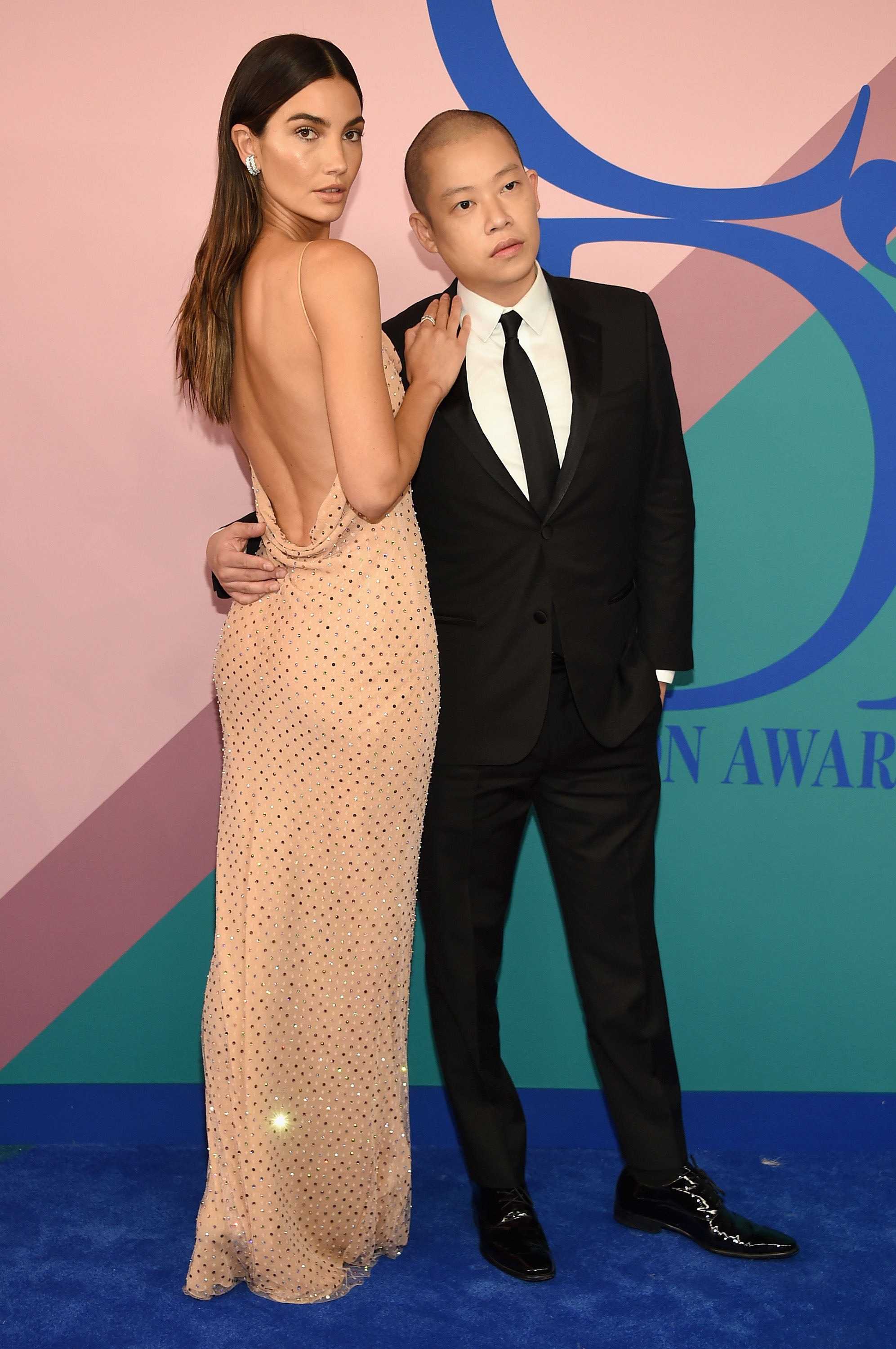 NEW YORK, NY - JUNE 05:  Lily Aldridge and Jason Wu attend the 2017 CFDA Fashion Awards at Hammerstein Ballroom on June 5, 2017 in New York City.  (Photo by Dimitrios Kambouris/Getty Images)
