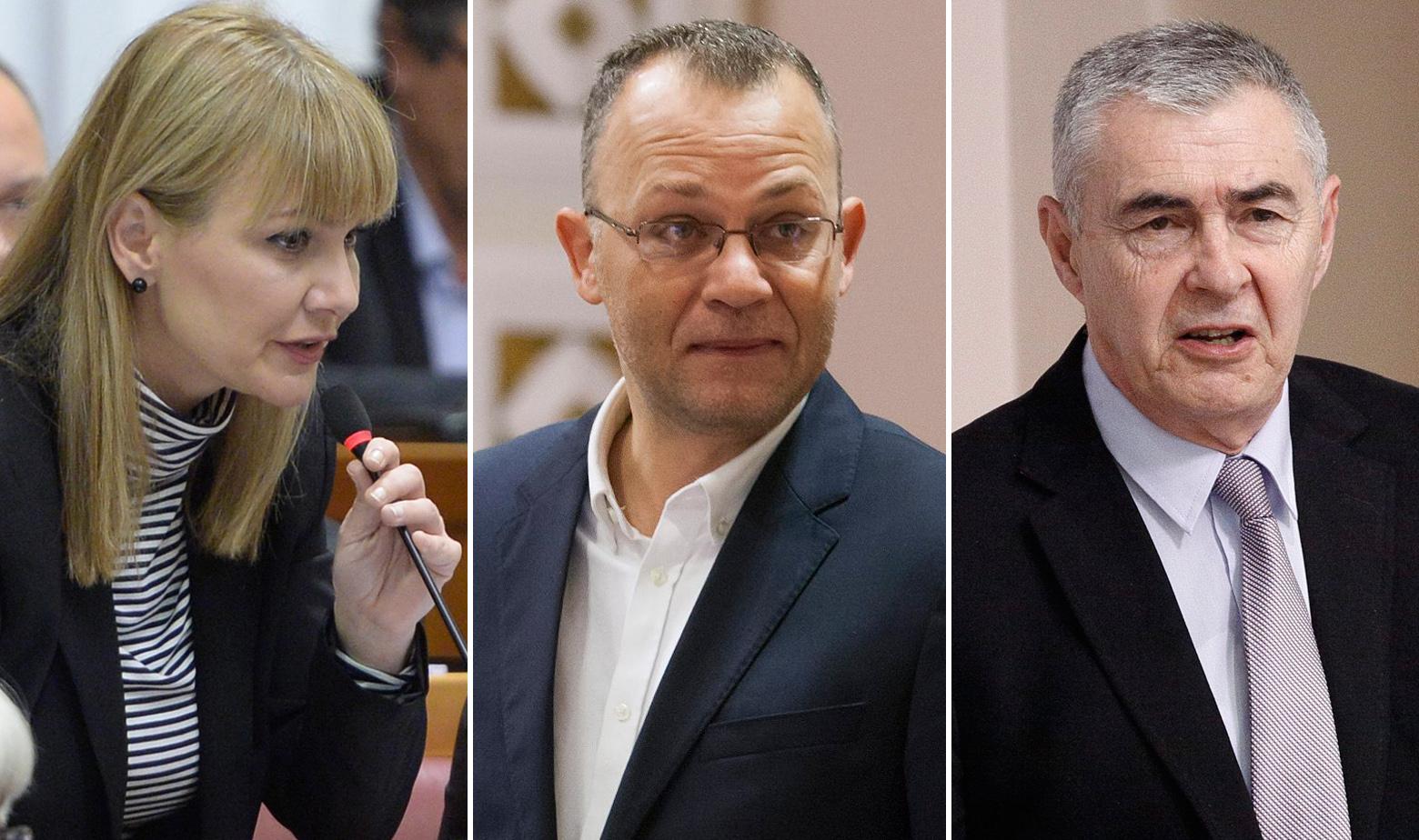 Esih, Hasanbegović, Glasnović