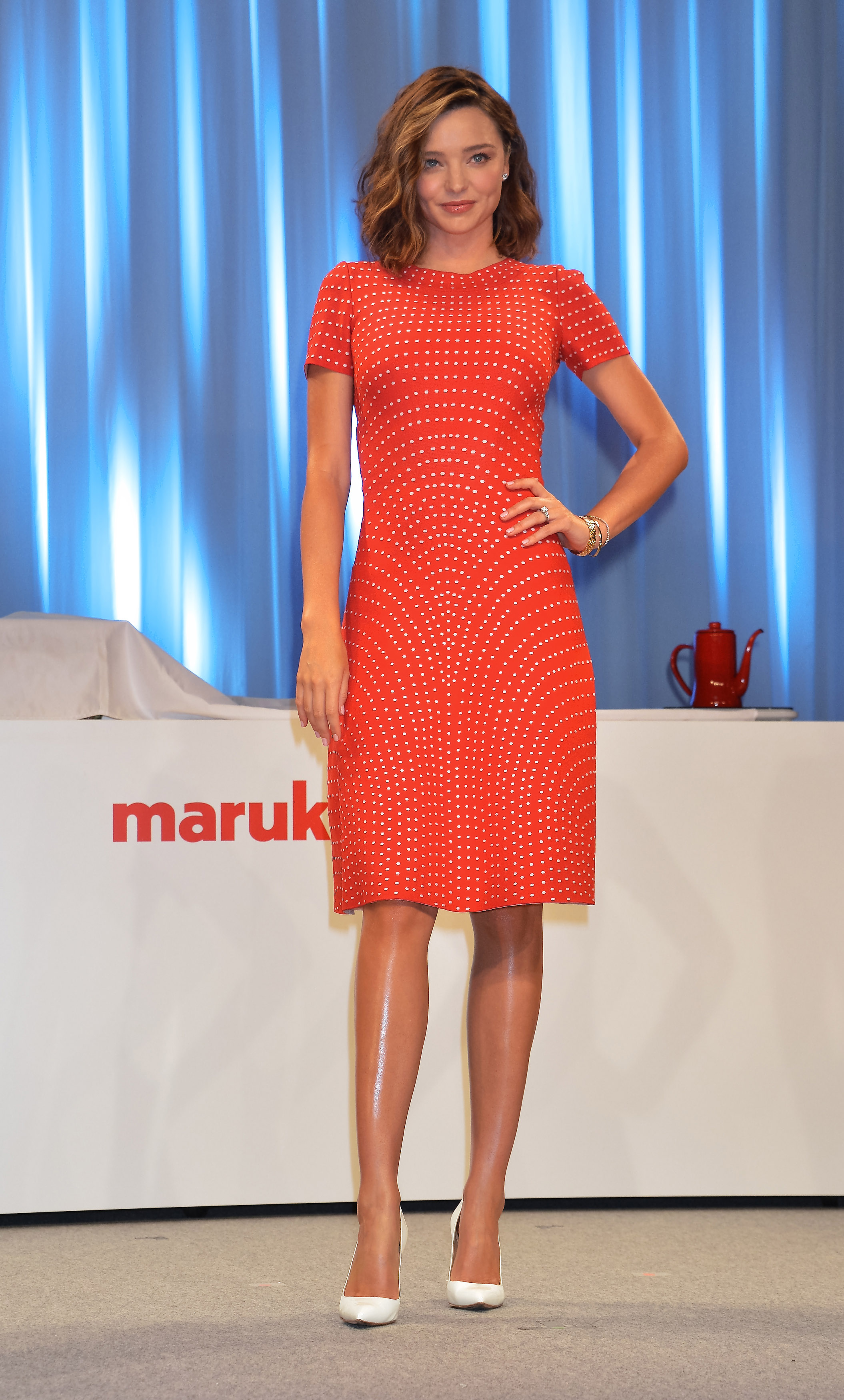 Model Miranda Kerr attends an event for fermented foods company, Marukome Co.,Ltd. in Tokyo, Japan on July 10, 2017.   Photo by /UPI, Image: 341389571, License: Rights-managed, Restrictions: , Model Release: no, Credit line: Profimedia, UPI