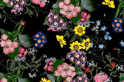 Jedan od uzoraka u kolekciji H&M x Erdem