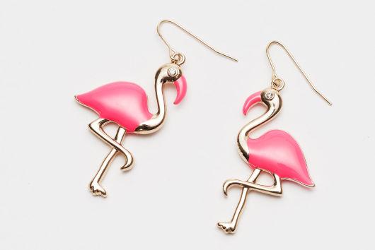 Naušnice flamingo H&M