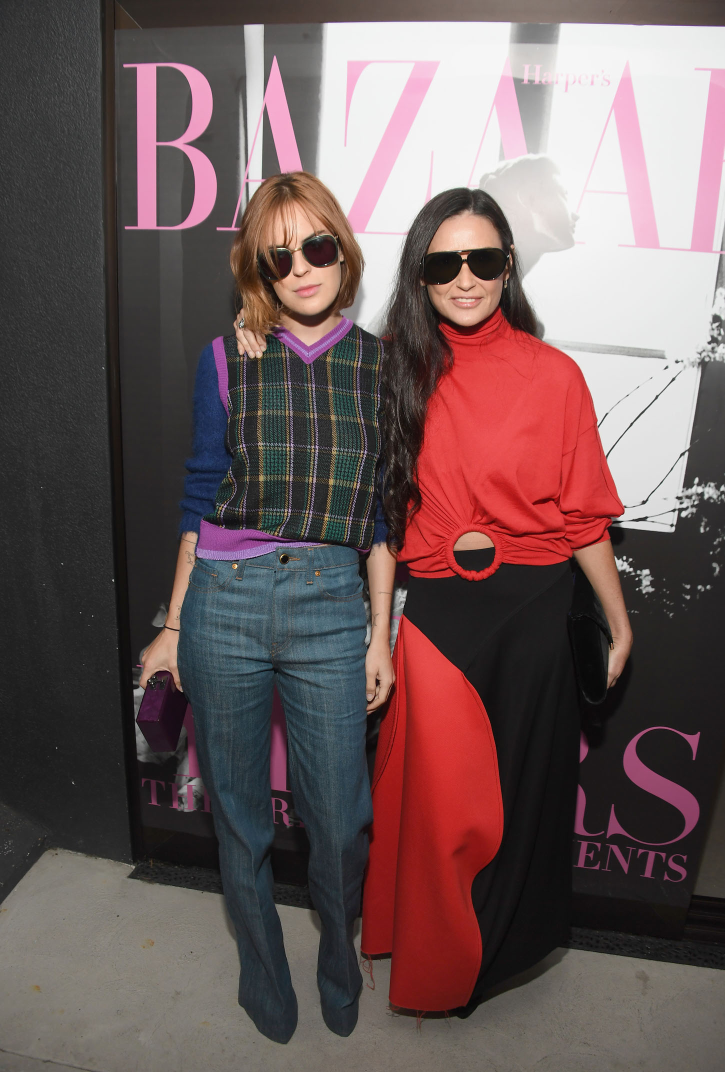 LOS ANGELES, CA - JUNE 08:  Tallulah Belle Willis (L) and Demi Moore attend Glenda Bailey's Book Launch Celebration at Eric Buterbaugh Los Angeles on June 8, 2017 in Los Angeles, California.  (Photo by Matt Winkelmeyer/Getty Images)