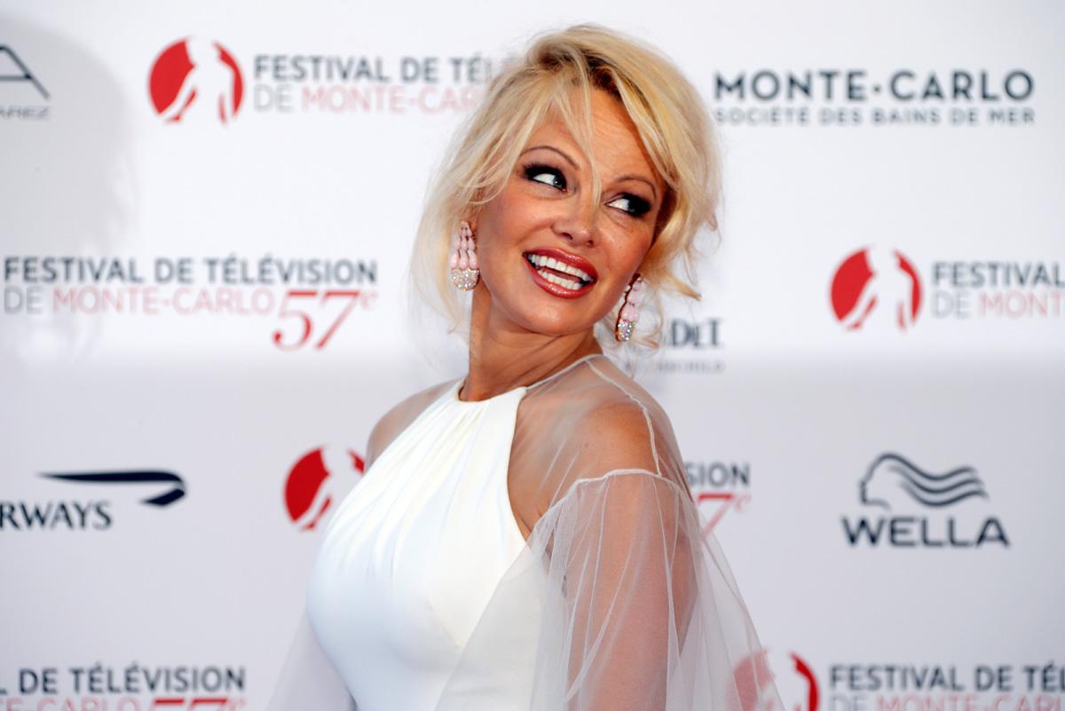 Glumica Pamela Anderson na svečanosti otvaranja ceremonije 57. Televizijskog festivala Monte-Carlo u lipnju