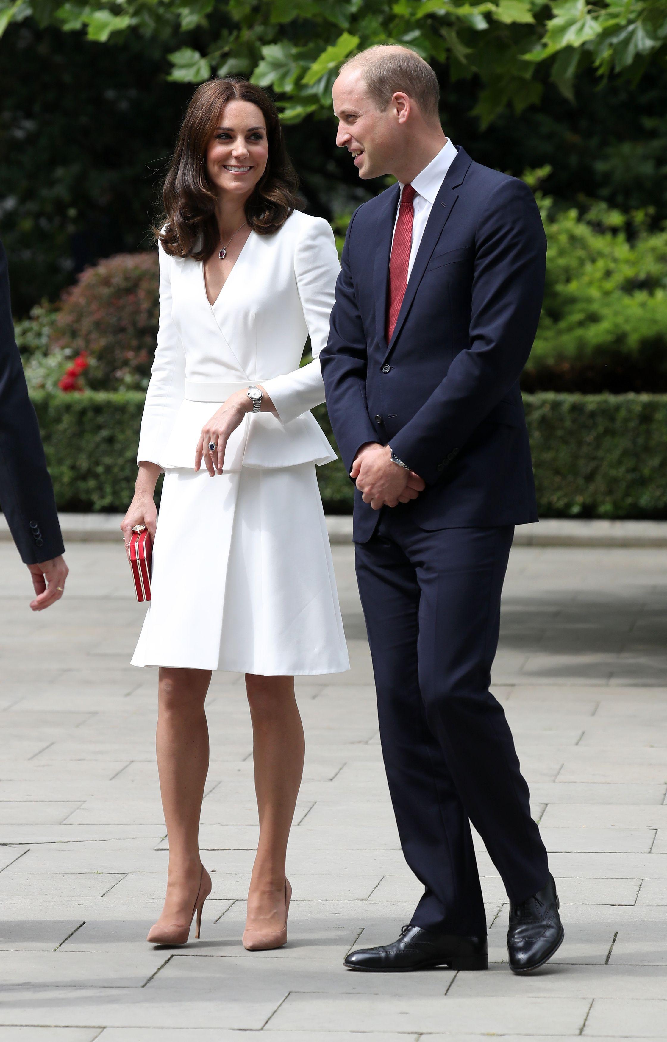 Vojvotkinja od Cambridgea i Princ William u posjetu Predsjedničkoj palači u Varšavi