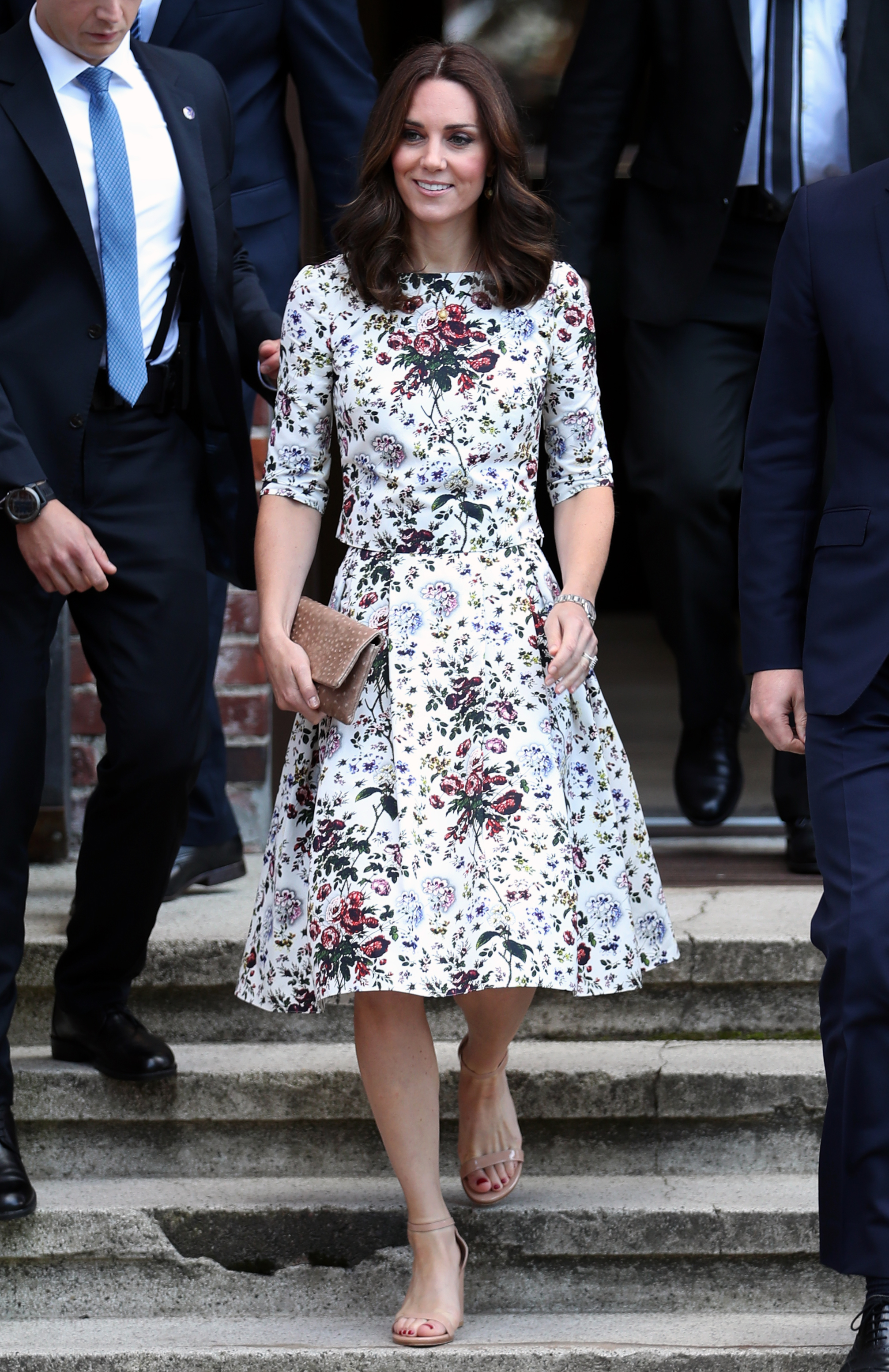 The Duchess of Cambridge during a visit the former Nazi Germany Concentration Camp, Stutthof, on the second day of their five-day tour of Poland and Germany., Image: 342351386, License: Rights-managed, Restrictions: , Model Release: no, Credit line: Profimedia, Press Association