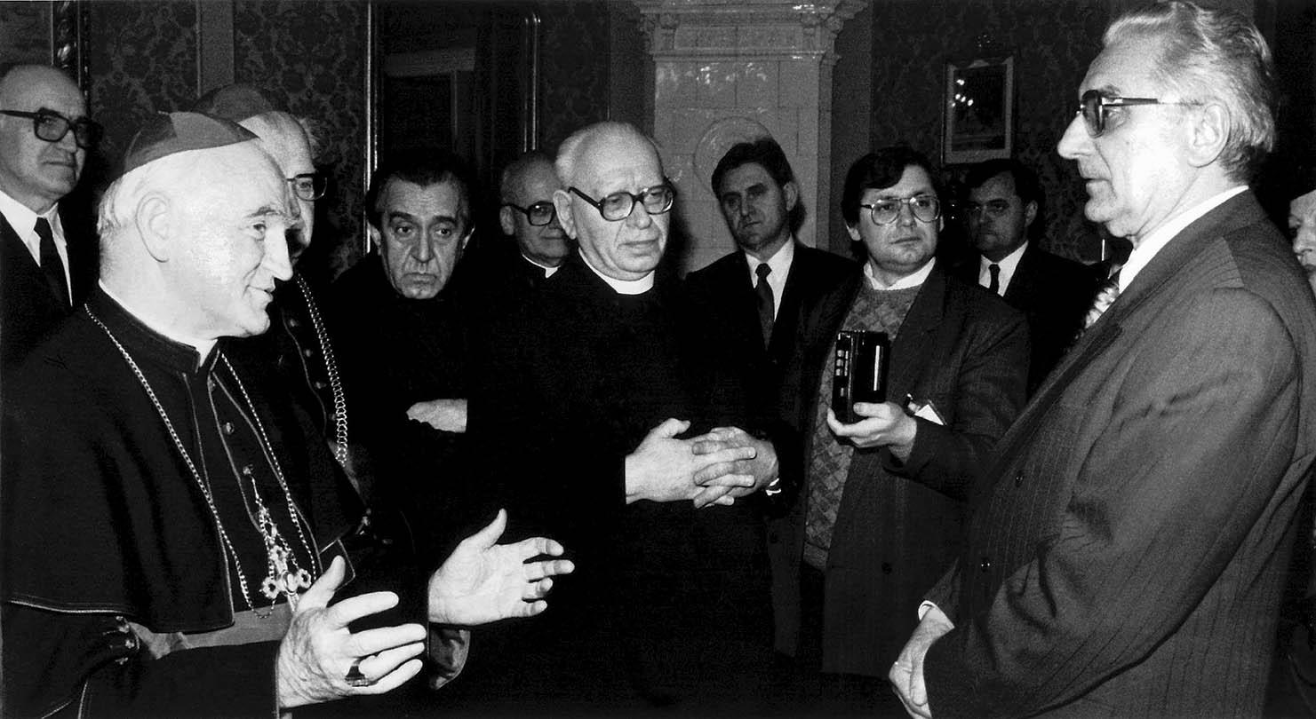 kardinal franjo kuharic, franjo tudjman foto arhiva eph -desk-