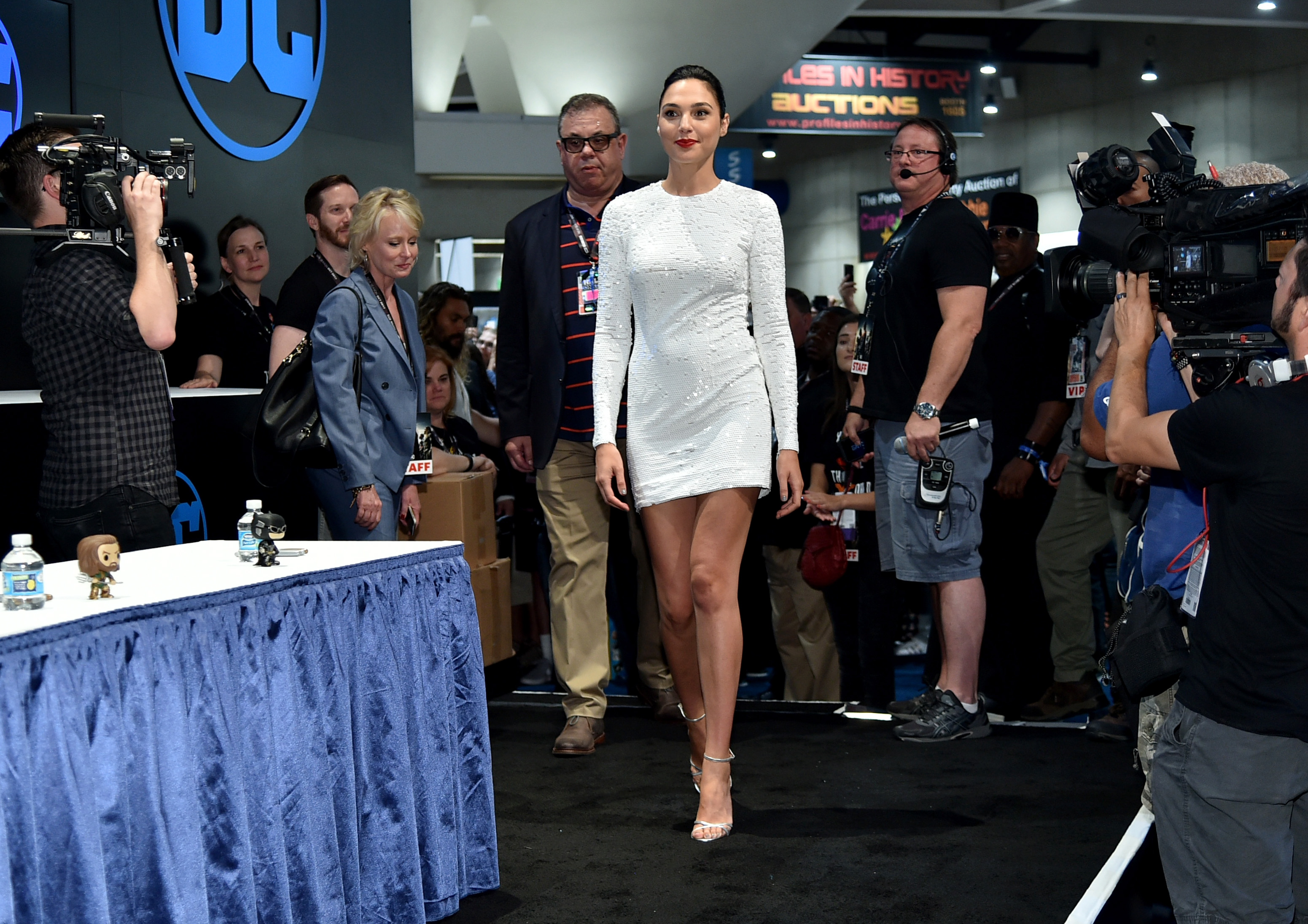 SAN DIEGO, CA - JULY 22:  Actor Gal Gadot during the