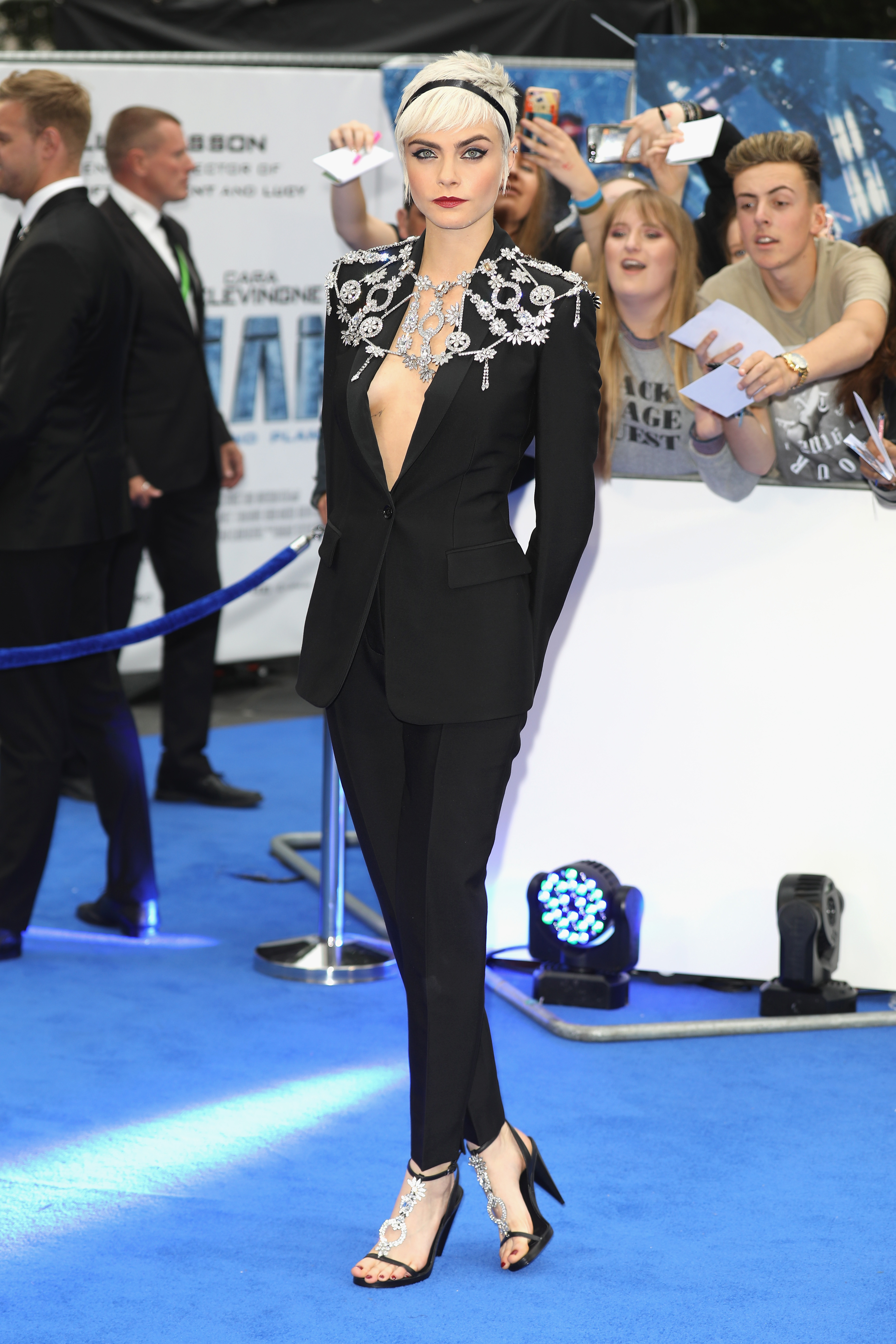 LONDON, ENGLAND - JULY 24:  Cara Delevingne attends the