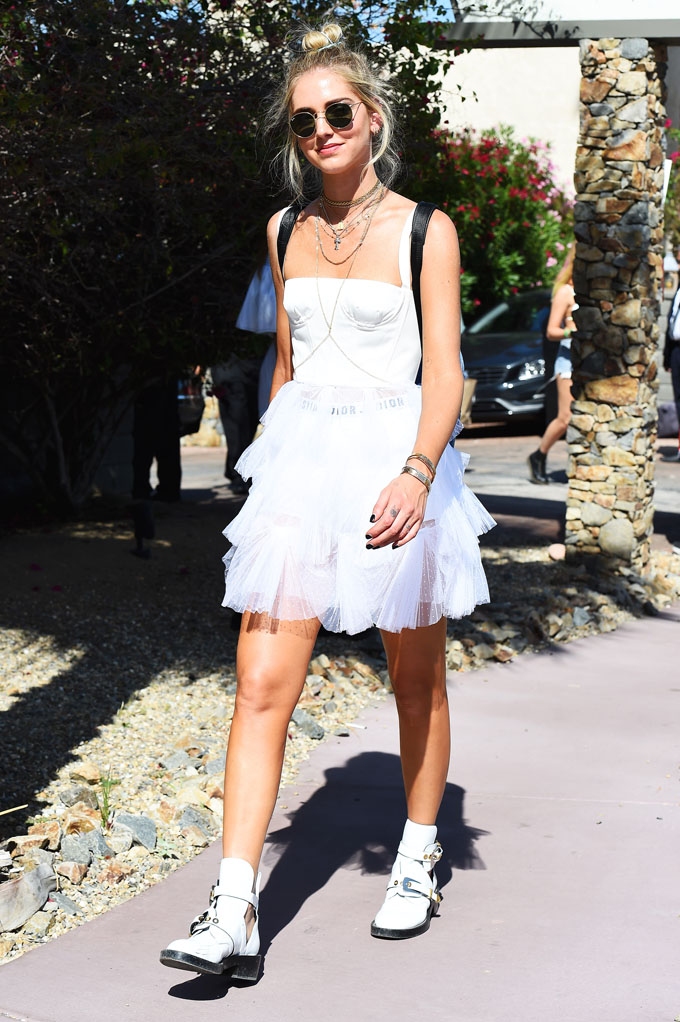, Indio, CA - 04/15/17 - Celebrities at Coachella Day 2 -PICTURED: Chiara Ferragni -, Image: 329140593, License: Rights-managed, Restrictions: , Model Release: no, Credit line: Profimedia, INSTAR Images