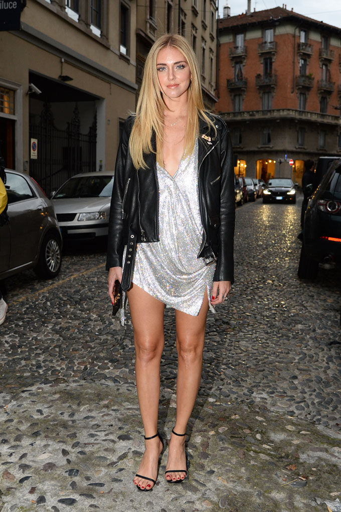 CODE: GLOBAL Chiara Ferragni is seen celebrating her 30th birthday party with family and friends at Mimmo restaurant on May 04, 2017 in Milan, Italy., Image: 331323315, License: Rights-managed, Restrictions: , Model Release: no, Credit line: Profimedia, Look Press Agency