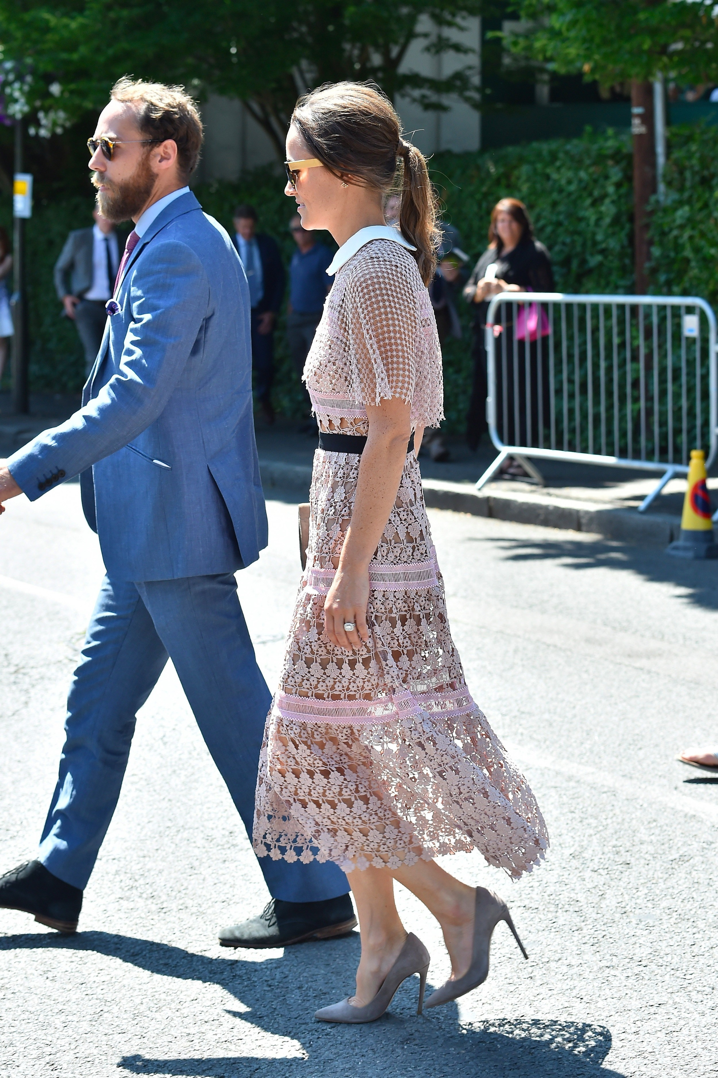 London, UNITED KINGDOM  - Pippa & James Middleton seen arriving for day three at The Championships at Wimbledon.  BACKGRID UK 5 JULY 2017, Image: 340911590, License: Rights-managed, Restrictions: , Model Release: no, Credit line: Profimedia, Xposurephotos