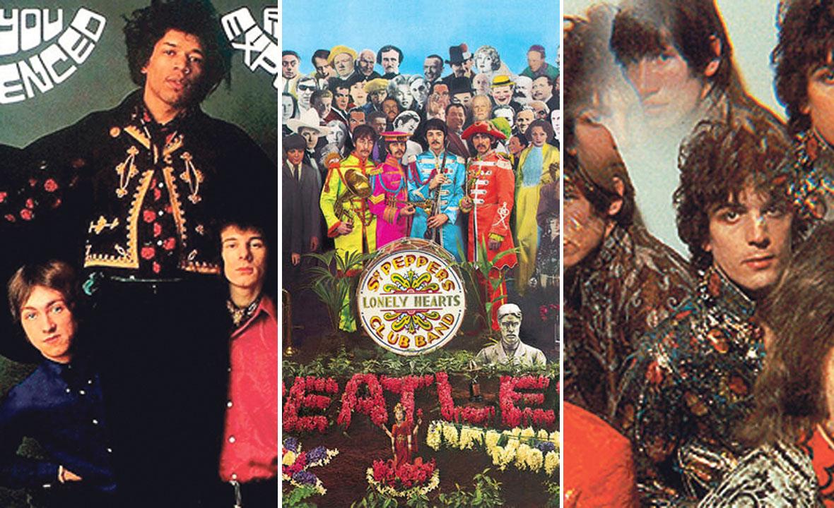 Jimi Hendrix Experience, The Beatles i Pink Floyd