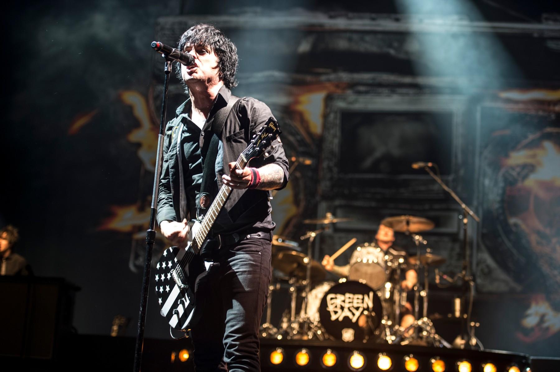 Ilustracija, koncert Green Daya