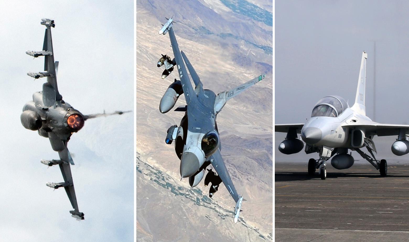 JAS 39 Gripen, F-16, FA-50