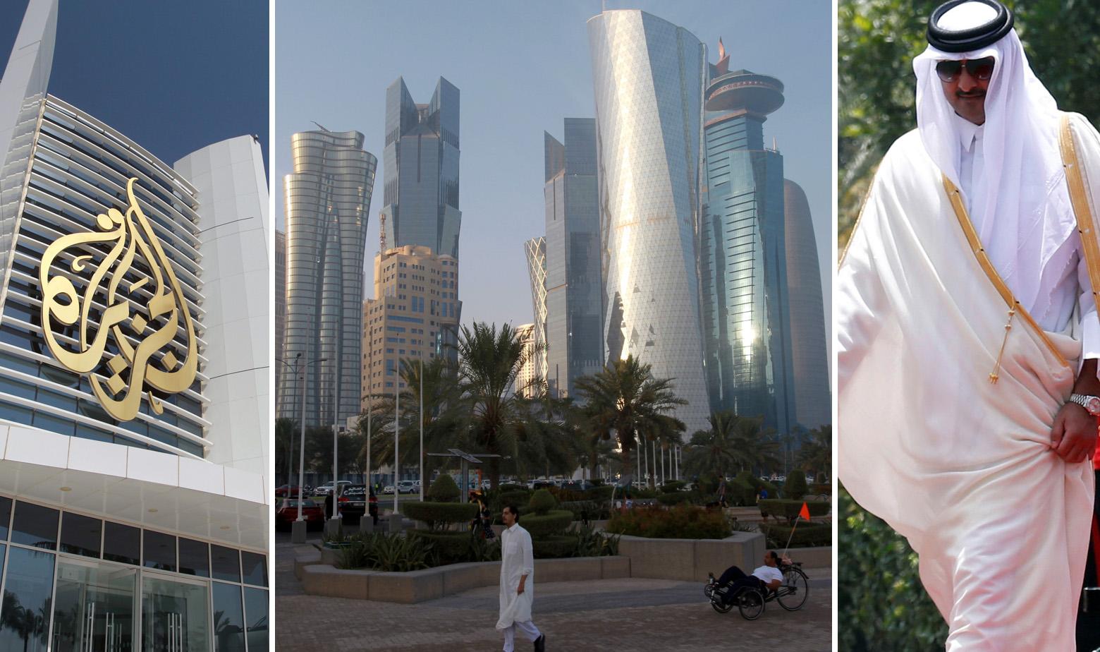 Zgrada Al Jazeere, Doha i emir Tamim bin Hamad Al Thani