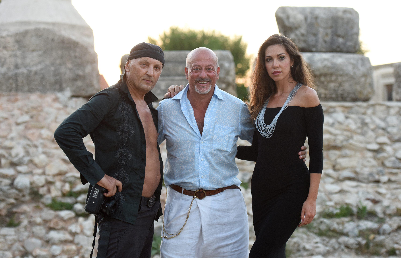 Stephan Lupino, Domenico Vacca i Eleonora Pieroni