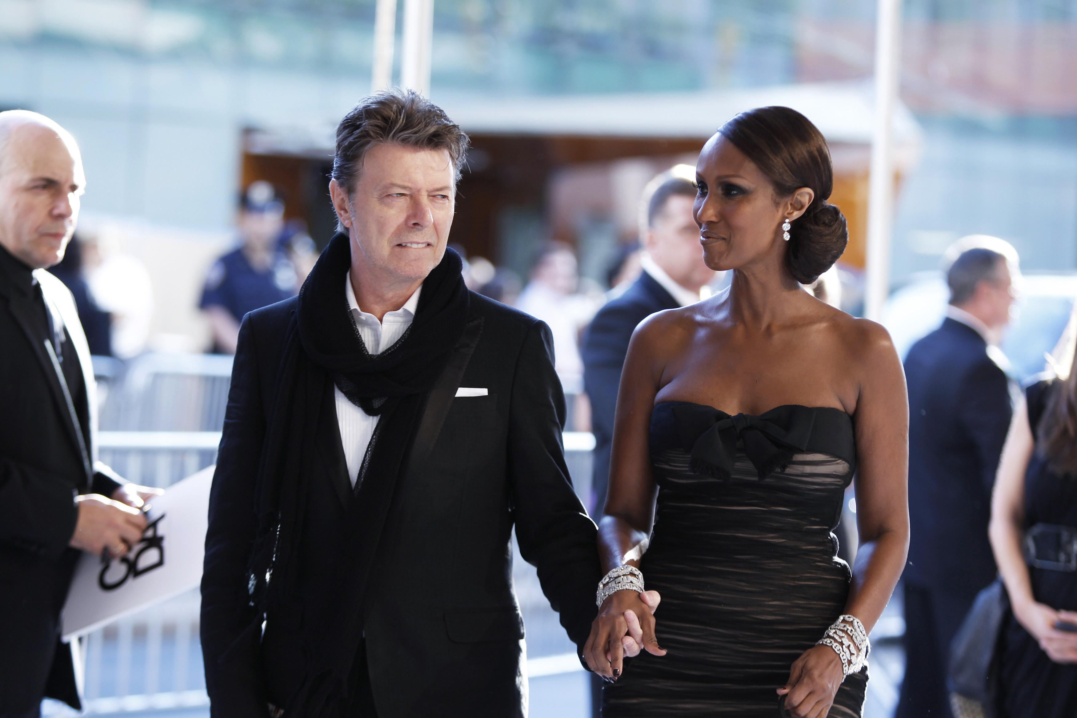 Iman i David Bowie 2010.