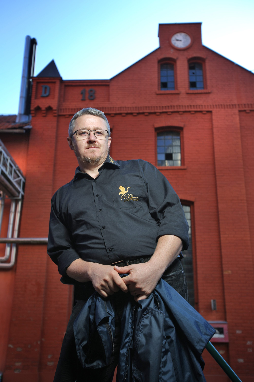 Krešo Marić, voditelj proizvodnje majstor pivar Pivovare Daruvar