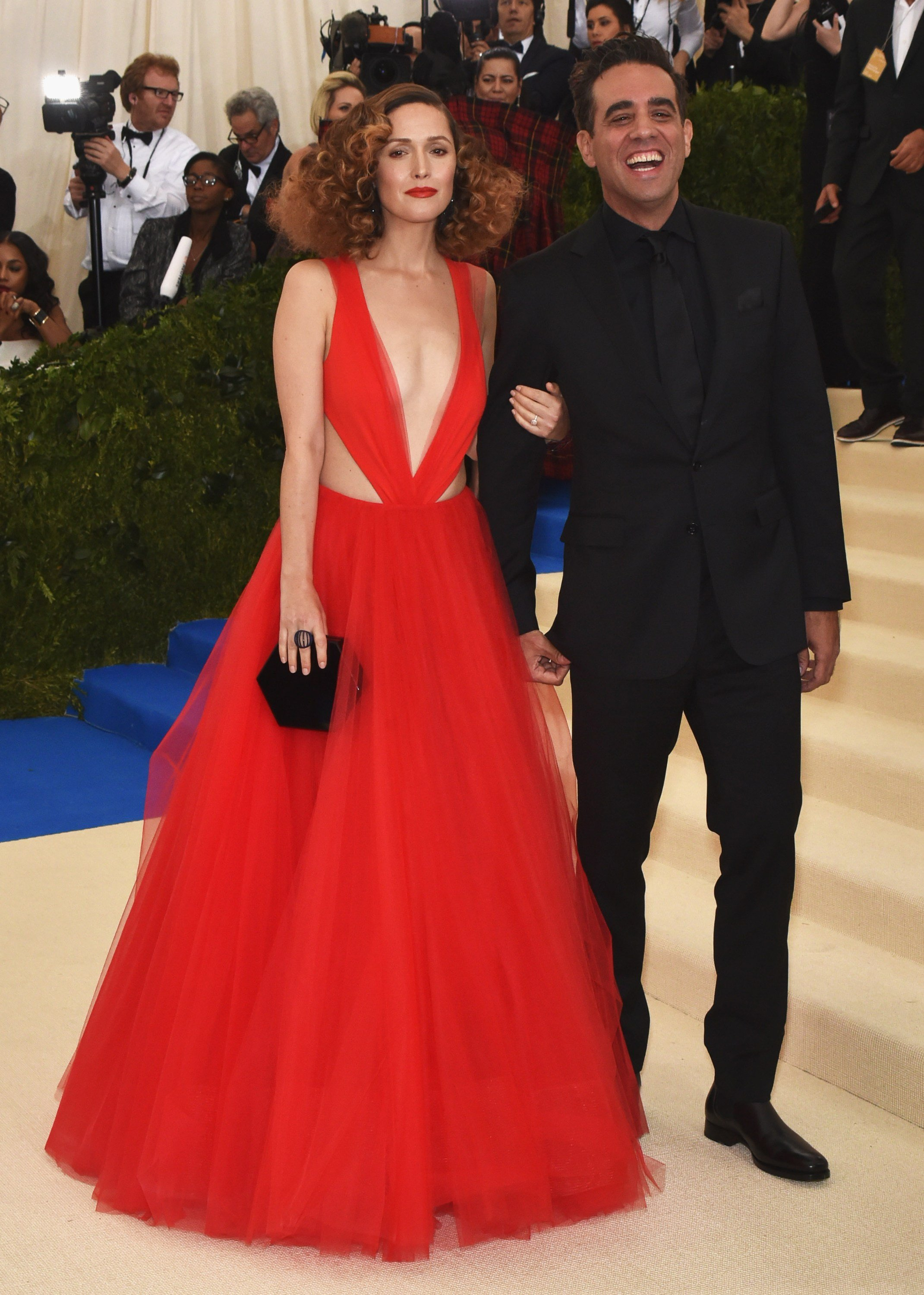 Rose Byrne, Bobby Cannavale at arrivals for Rei Kawakubo & Comme des Garcons Costume Institute Gala - ARRIVALS 1, Metropolitan Museum of Art, New York, NY May 1, 2017., Image: 330857441, License: Rights-managed, Restrictions: For usage credit please use; Steven Ferdman/Everett Collection, Model Release: no, Credit line: Profimedia, Everett
