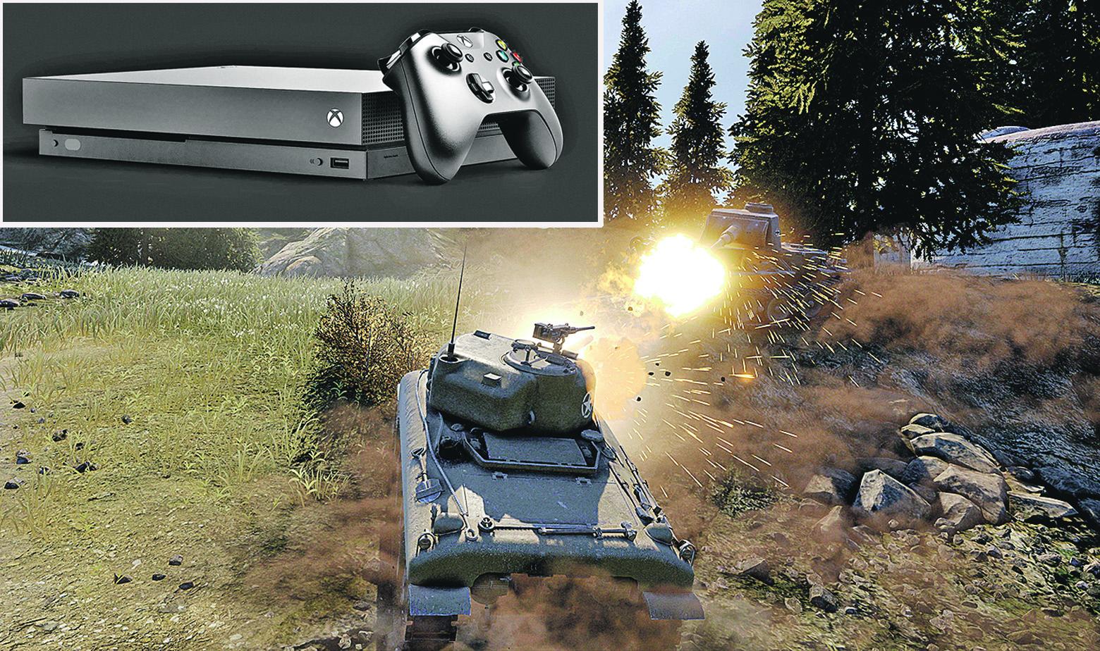 Xbox World of Tanks