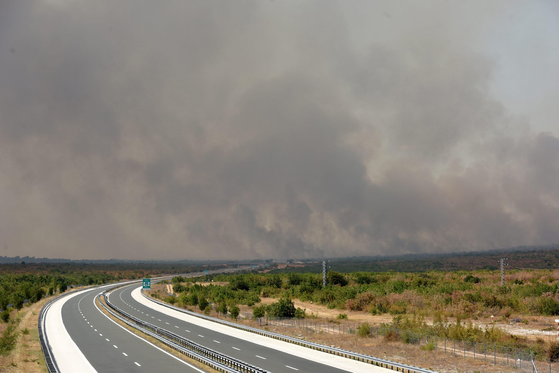 Autocesta požar