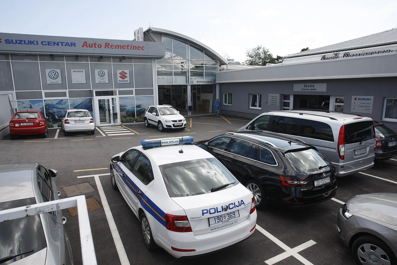 Remetinec pljačka policija