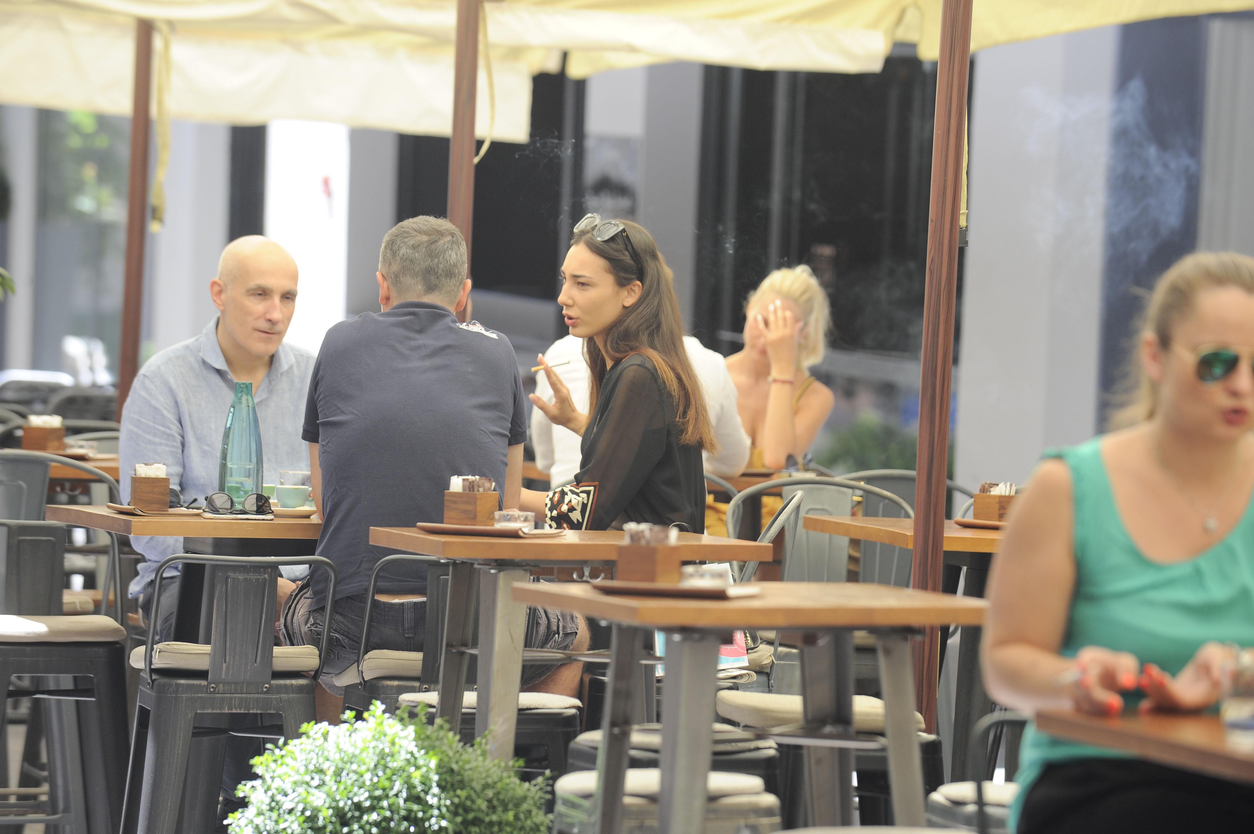 Spica / Zagreb 29.07.2017. / foto: Davor Matota / Josko Lokas i djevojka Jelena Katarina Kapa