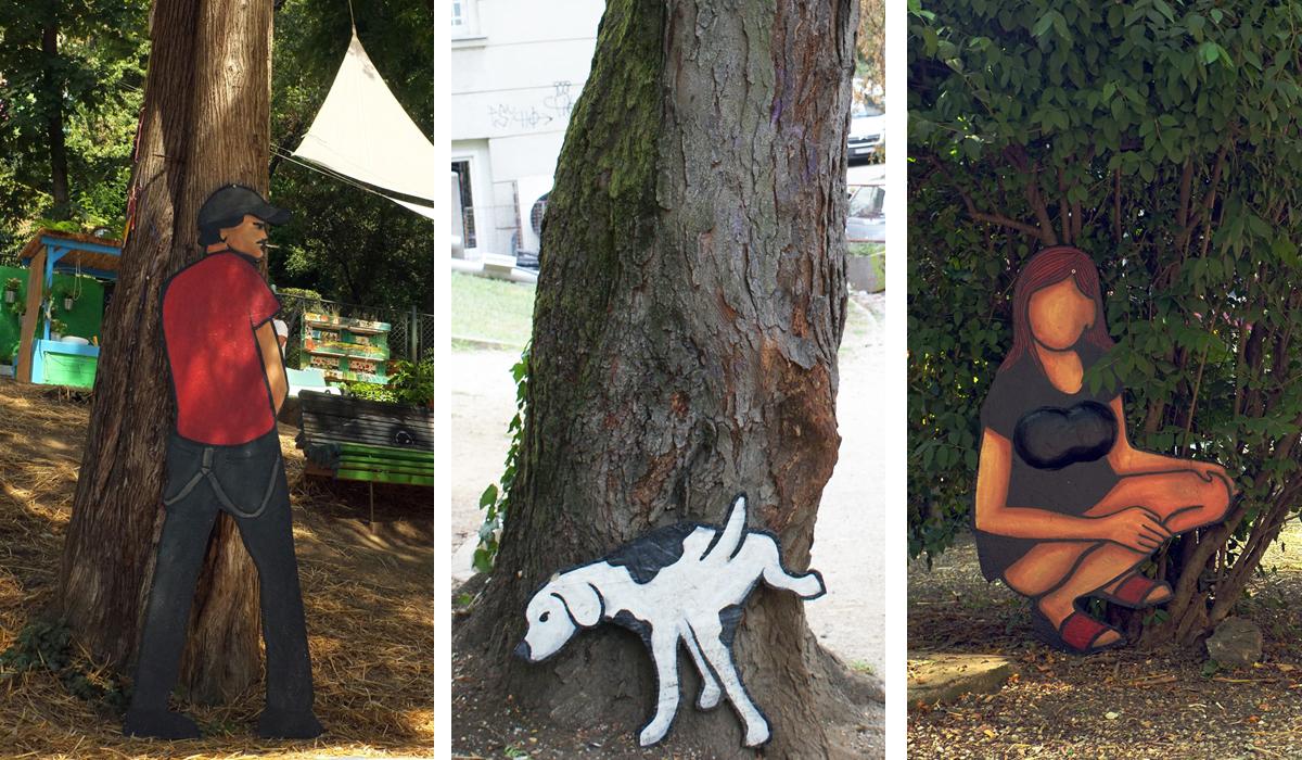 Radovi Nikoline Ivezić u Art Parku