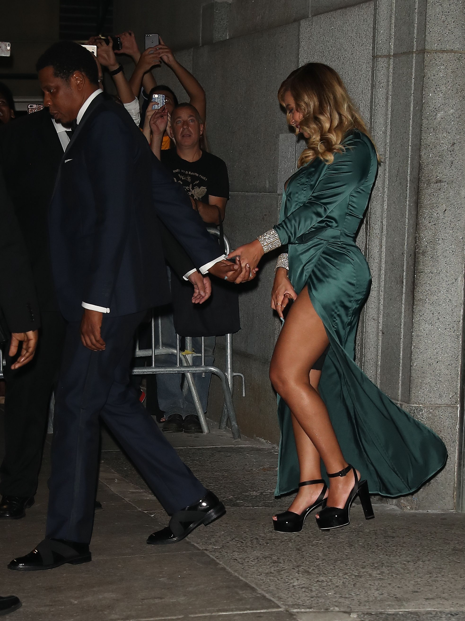 Beyonce and Jay - Z leave Rihanna's Diamond Ball in New York City.  <P> Pictured: Beyonce and Jay - Z leave Rihanna Diamond Ball in NYC <B>Ref: SPL1579046  150917  </B><BR/> Picture by: Pap Nation / Splash News<BR/> </P><P> <B>Splash News and Pictures</B><BR/> Los Angeles:310-821-2666<BR/> New York:212-619-2666<BR/> London:870-934-2666<BR/> <span id=