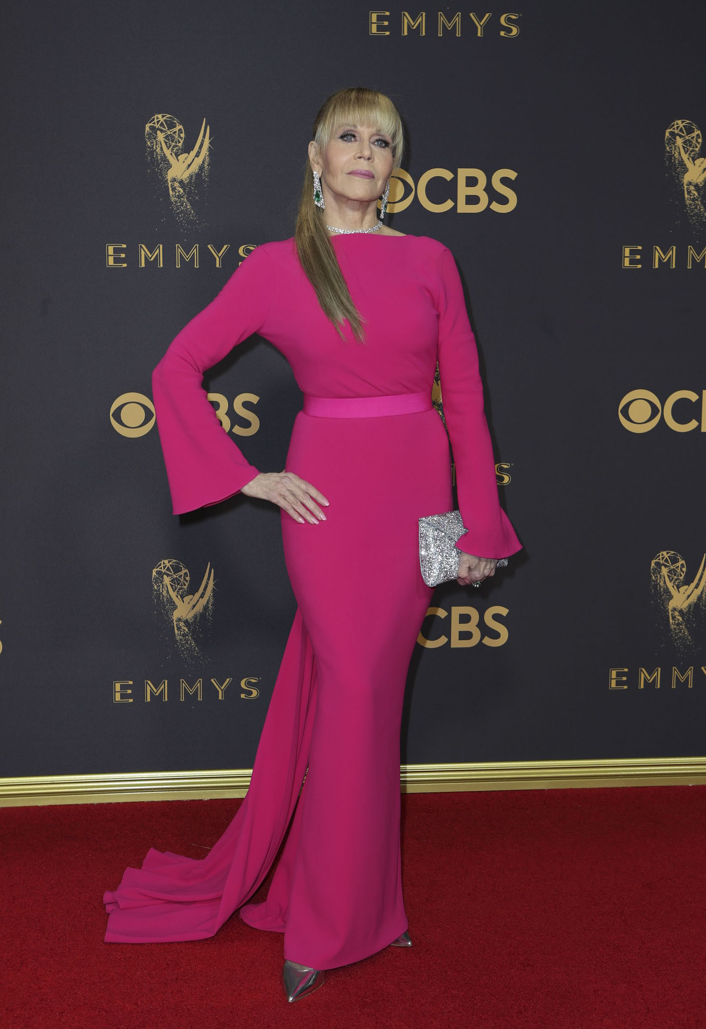 69th Primetime Emmy Awards Äì Arrivals Äì Los Angeles, California, U.S., 17/09/2017 -  Jane Fonda. REUTERS/Mike Blake