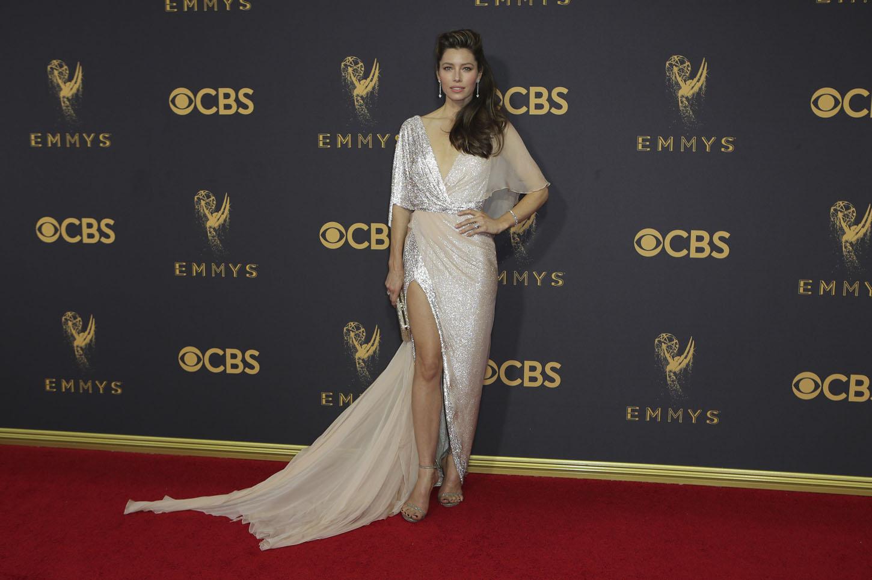 69th Primetime Emmy Awards Äì Arrivals Äì Los Angeles, California, U.S., 17/09/2017 -  Jessica Biel. REUTERS/Mike Blake