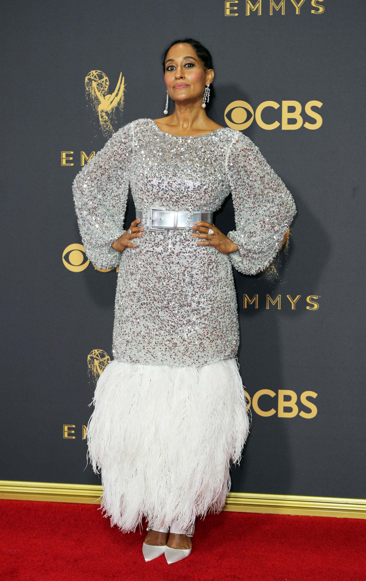69th Primetime Emmy Awards Äì Arrivals Äì Los Angeles, California, U.S., 17/09/2017 - Tracee Ellis Ross. REUTERS/Mike Blake