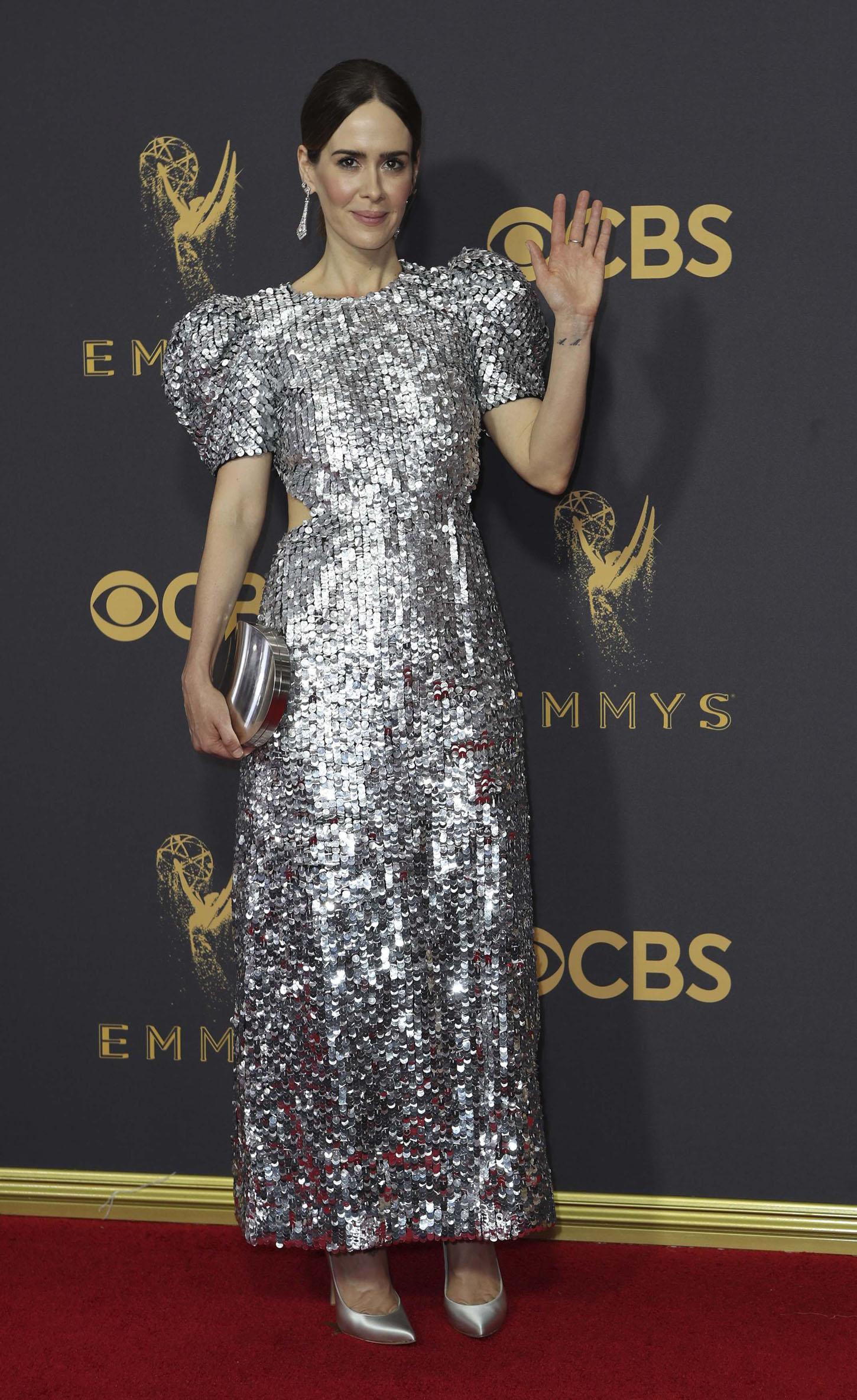 69th Primetime Emmy Awards Äì Arrivals Äì Los Angeles, California, U.S., 17/09/2017 -  Sarah Paulson. REUTERS/Mike Blake