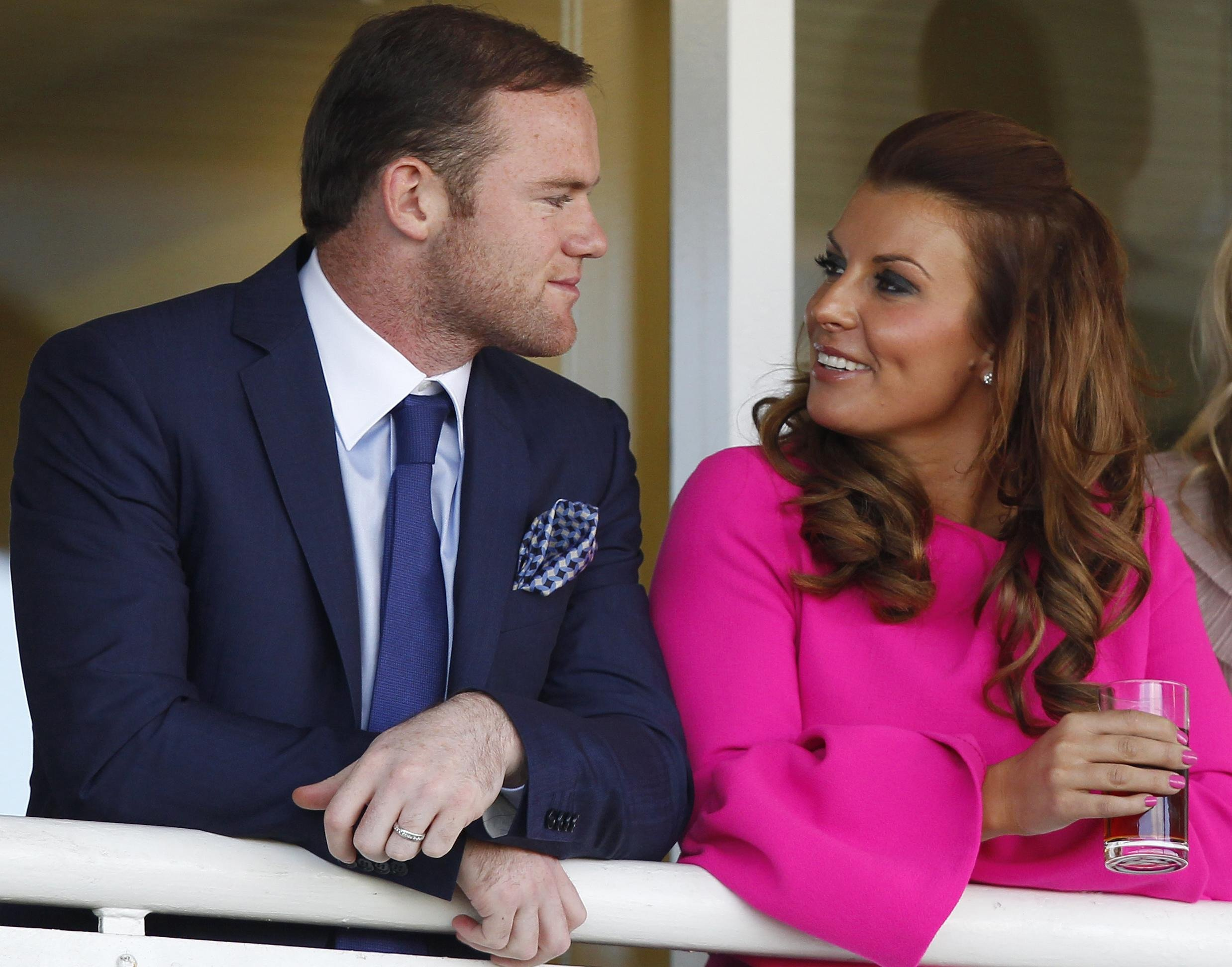 Wayne Rooney with his wife Coleen who has revealed she is pregnant with her fourth child., Image: 345747452, License: Rights-managed, Restrictions: , Model Release: no, Credit line: Profimedia, Press Association