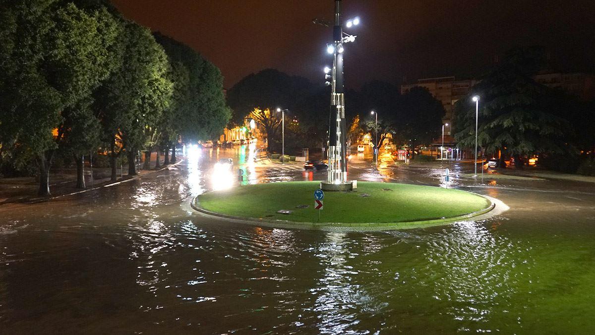Poplava na Punti u Puli