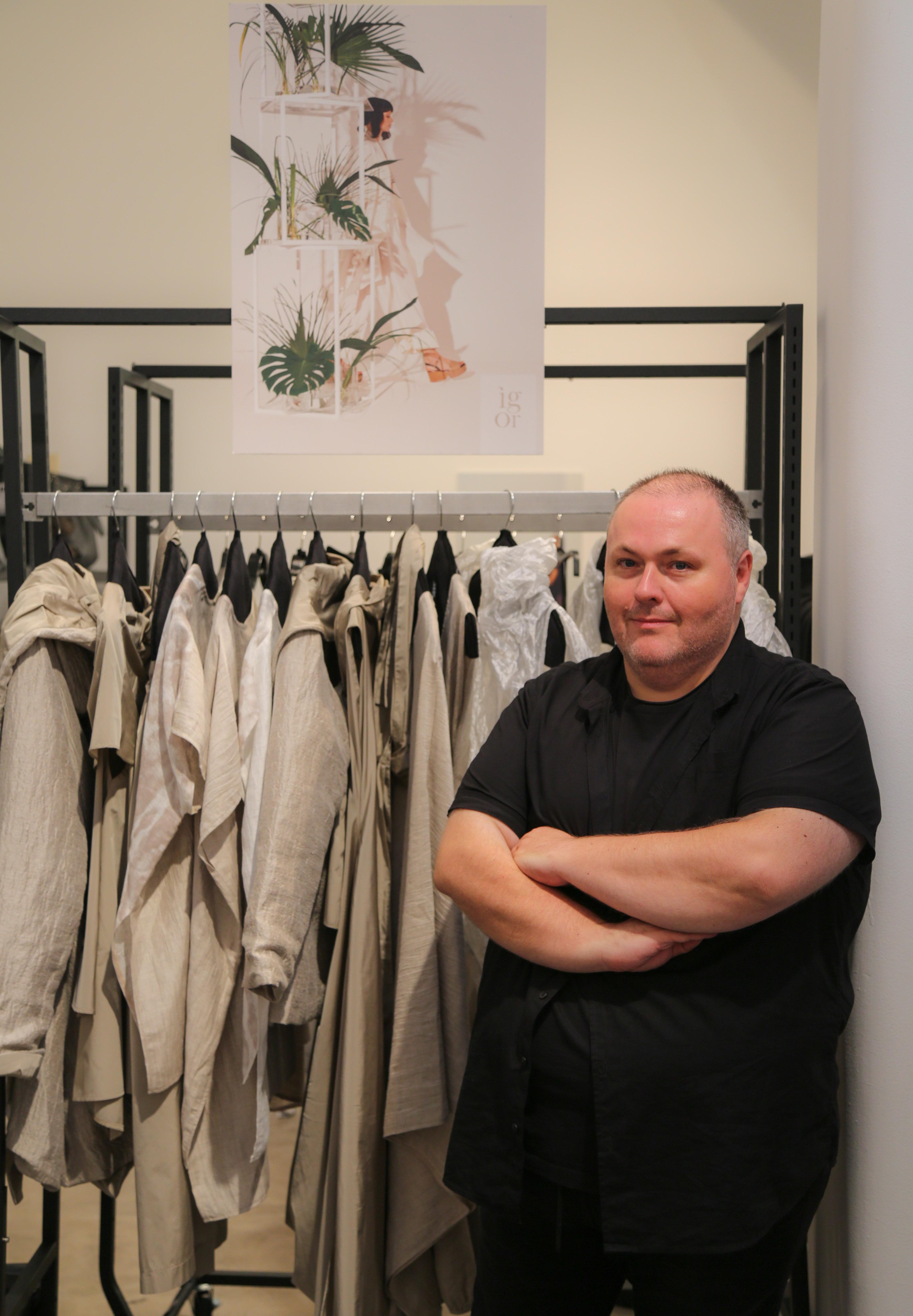 Modni dizajner Igor Dobranić