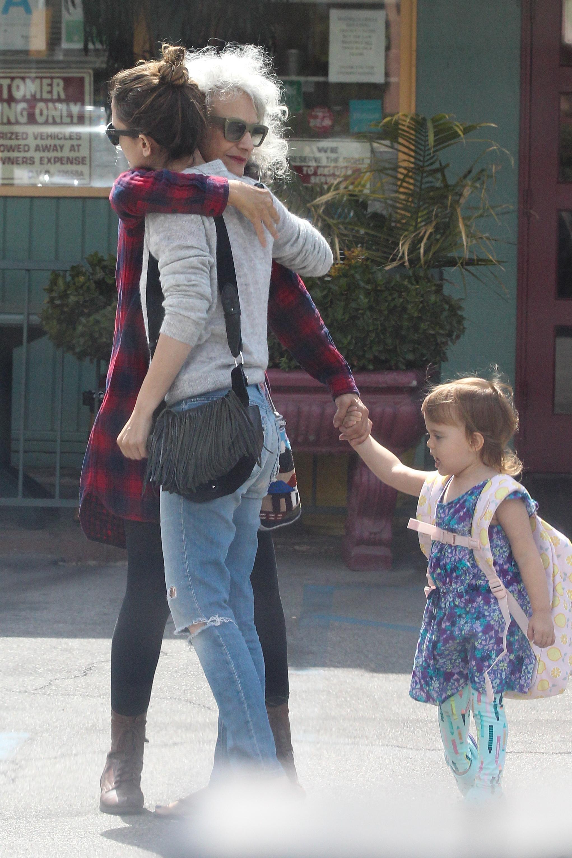 Glumica Rachel Bilson u društvu majke Janice i kćeri Briar Rose