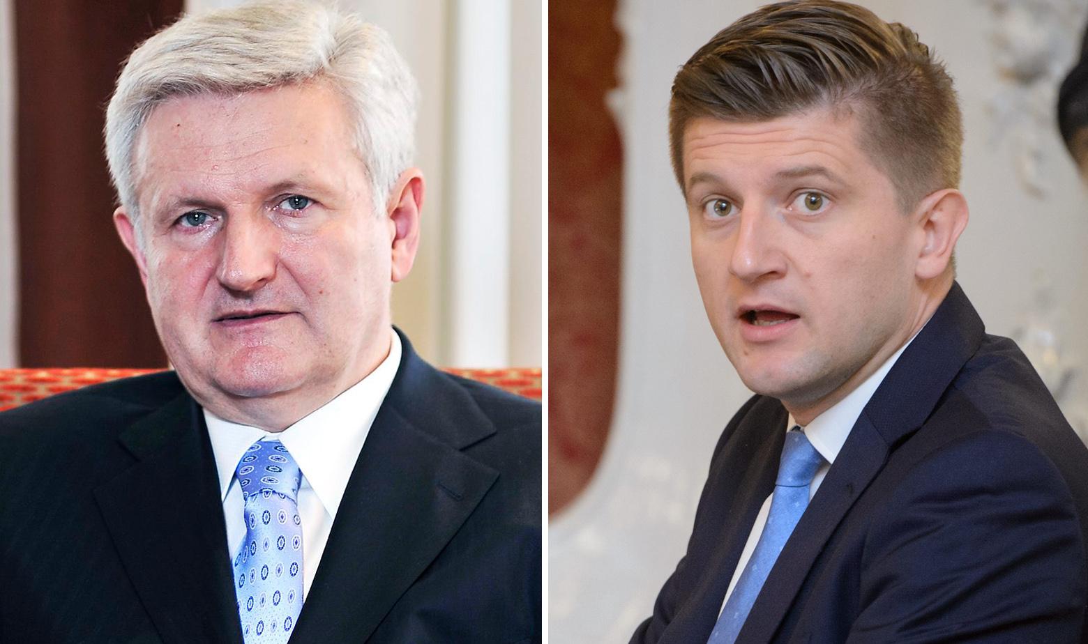 Ivica Todorić i Zdravko Marić