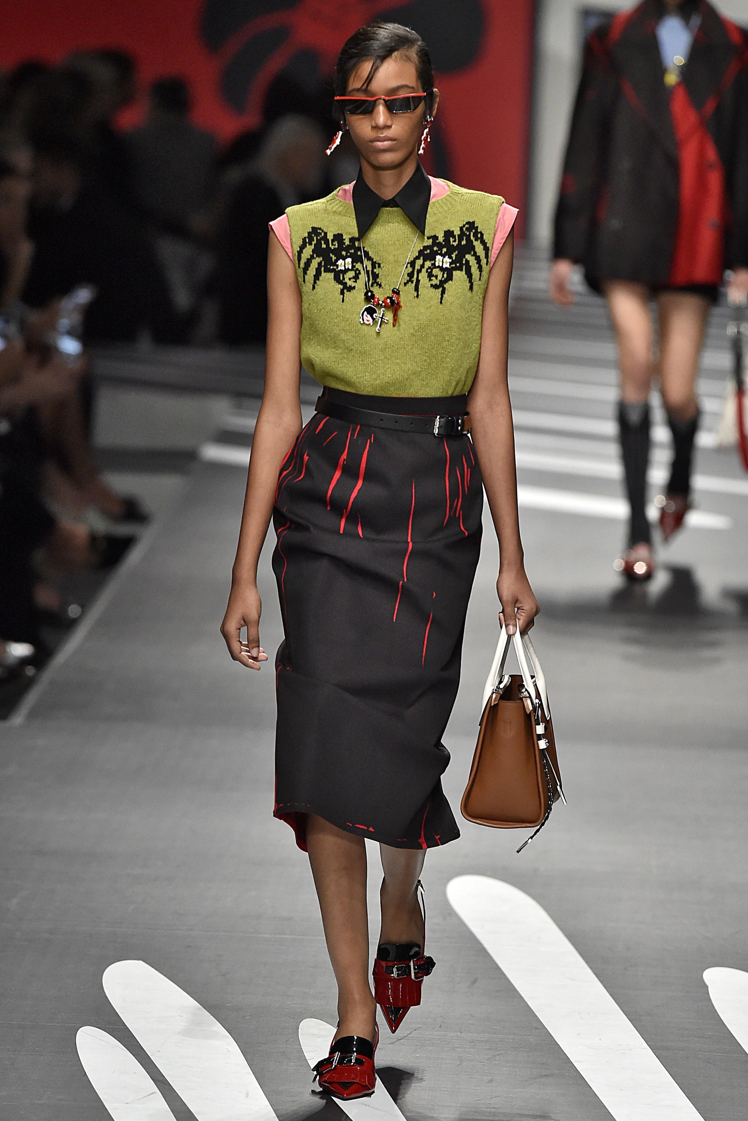 Prada Milan Fashion Week Spring Summer 2018 Milan September 2017, Image: 350140534, License: Rights-managed, Restrictions: , Model Release: no, Credit line: Profimedia, FirstView