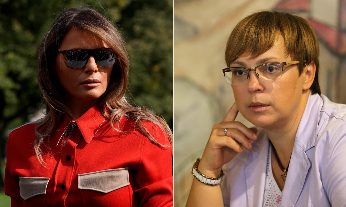Melania Trump i odvjetnica Nataša Pirc Musar