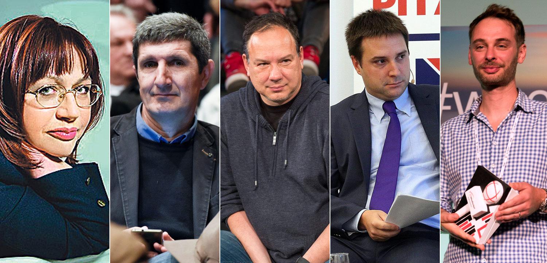 Jelena Lovrić, Ante Tomić, Jurica Pavičić, Marko Biočina i Tomislav Novak
