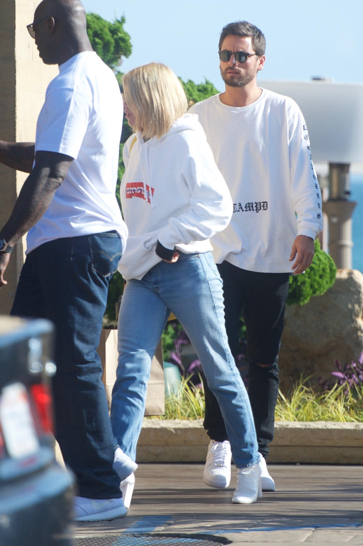 Sofia Richie and Scott Disick are seen leaving from lunch at Nobu in Malibu, CA. <P> Pictured: Sofia Richie and Scott Disick <B>Ref: SPL1579770  150917  </B><BR/> Picture by: Picture Perfect / Splash News<BR/> </P><P> <B>Splash News and Pictures</B><BR/> Los Angeles:310-821-2666<BR/> New York:212-619-2666<BR/> London:870-934-2666<BR/> <span id=