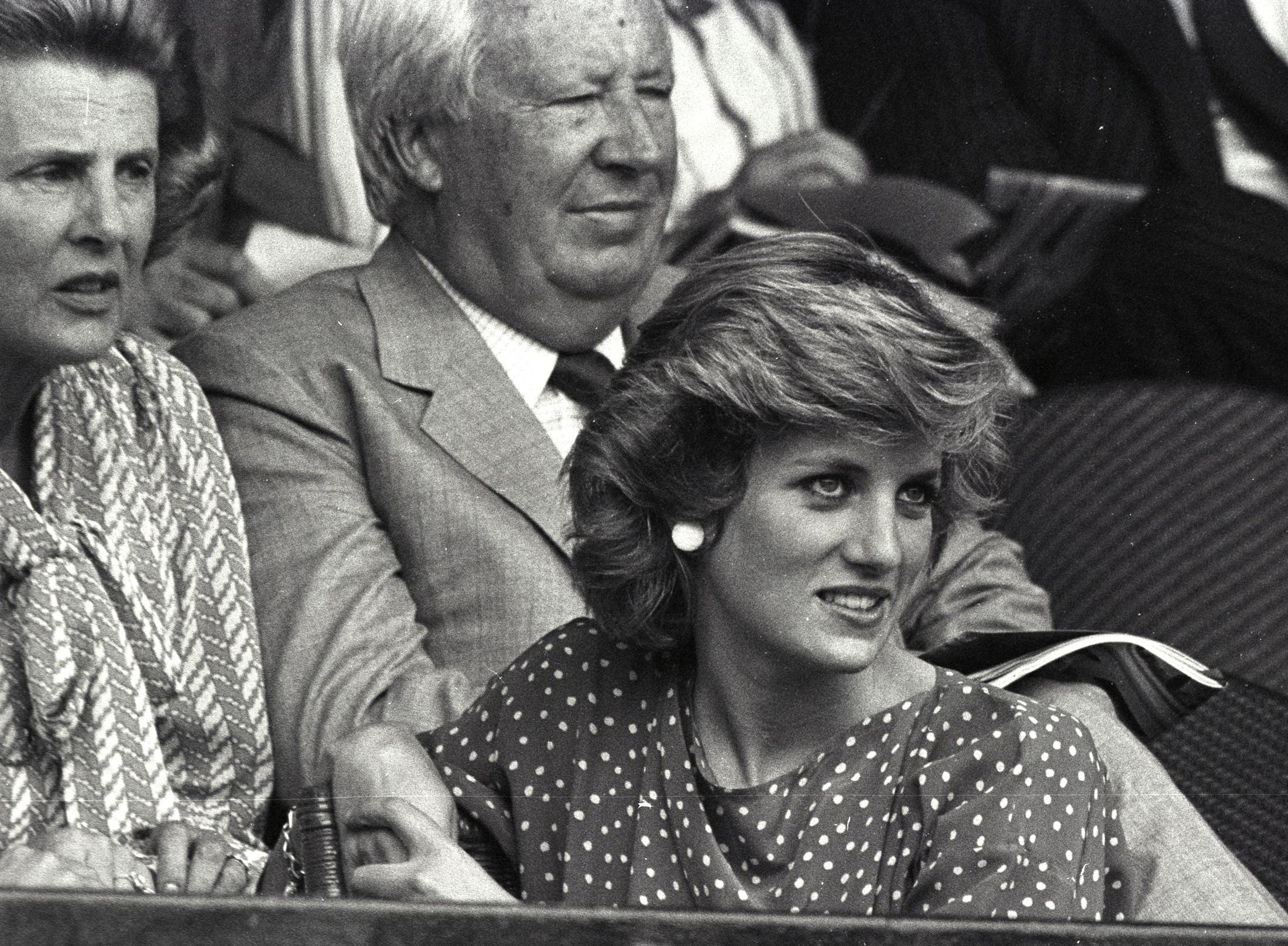 Pinceza Diana u Wimbledonu 1985.