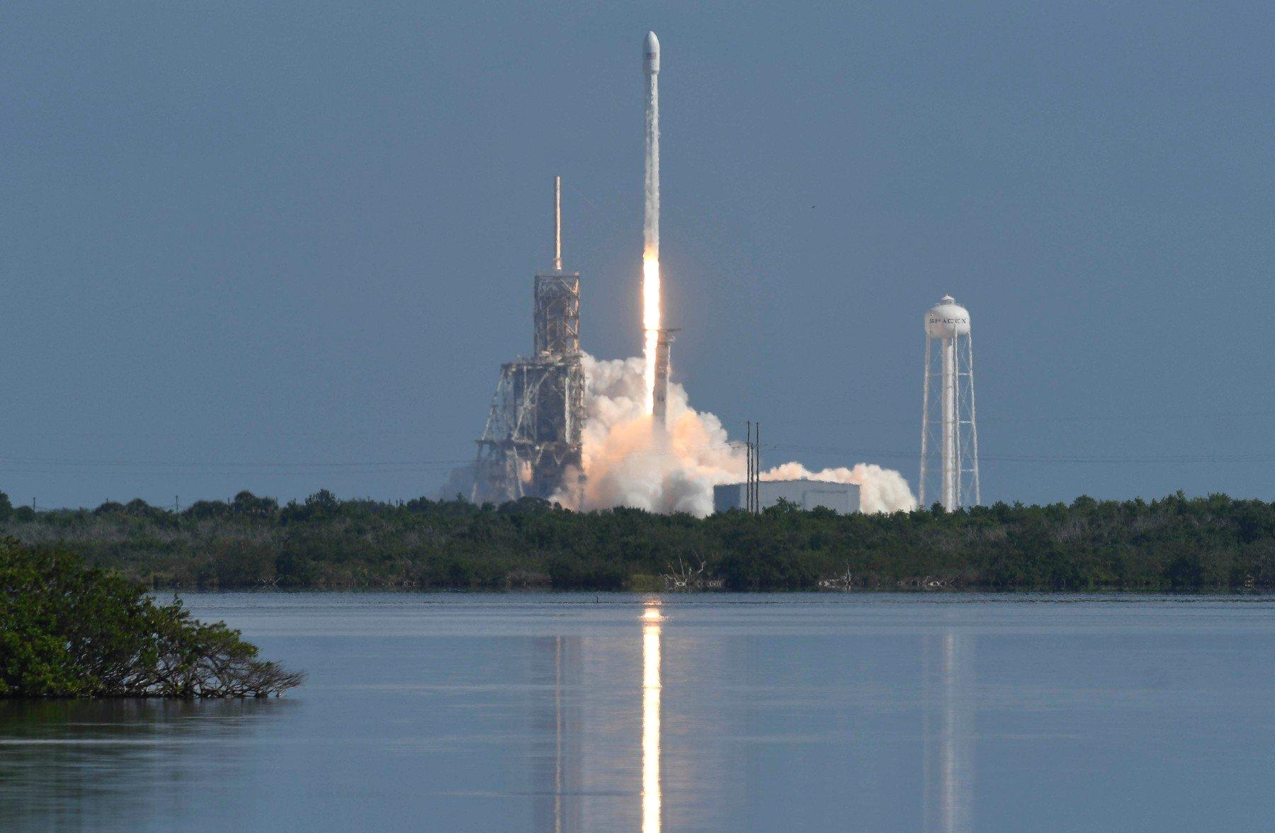 Lansiranje SpaceX Falcon 9 rakete