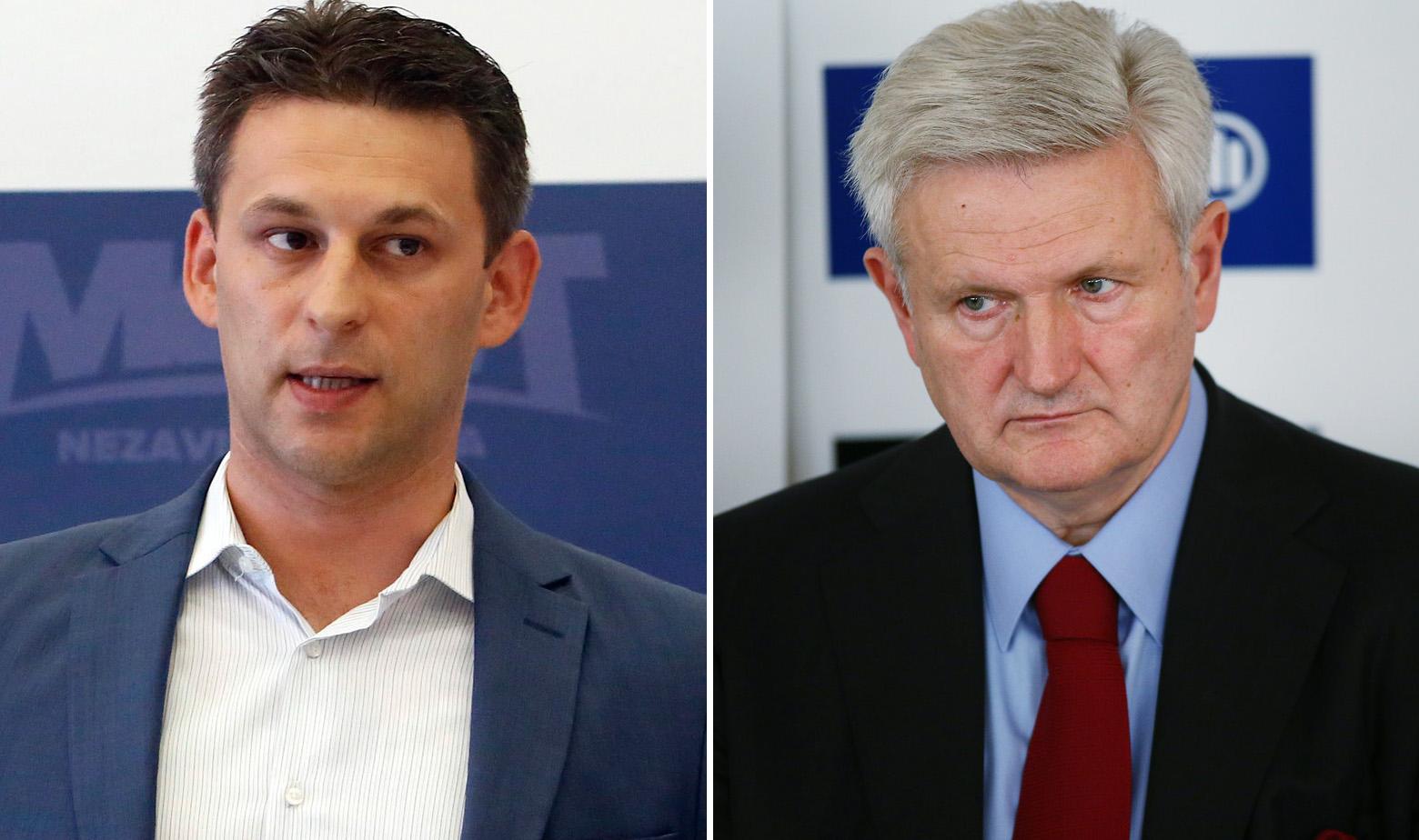 Božo Petrov i Ivica Todorić