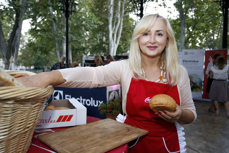 Ankica Dobrić na Food Film Festivalu na Zrinjevcu, prije tri tjedna