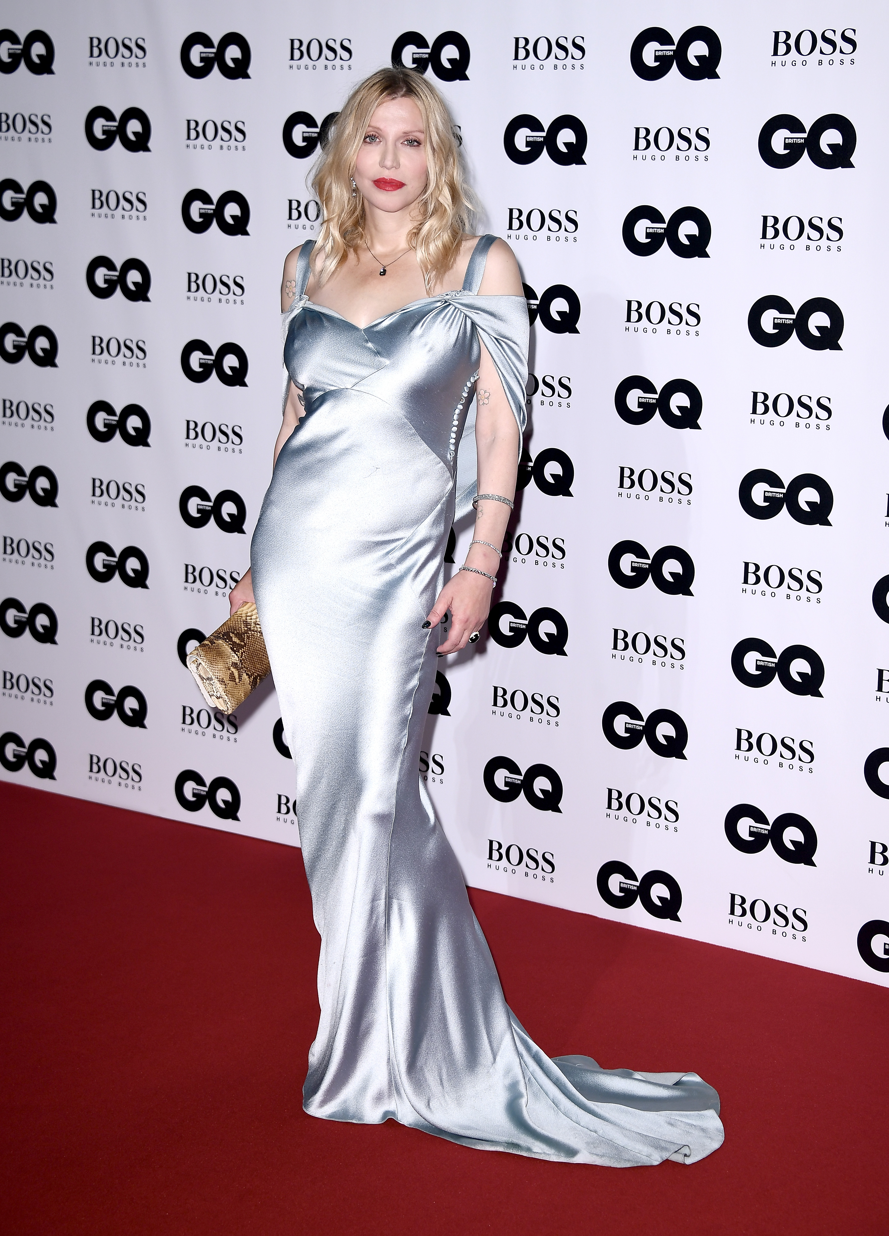 LONDON, ENGLAND - SEPTEMBER 05:  Courtney Love attends the GQ Men Of The Year Awards at the Tate Modern on September 5, 2017 in London, England.  (Photo by Gareth Cattermole/Getty Images)